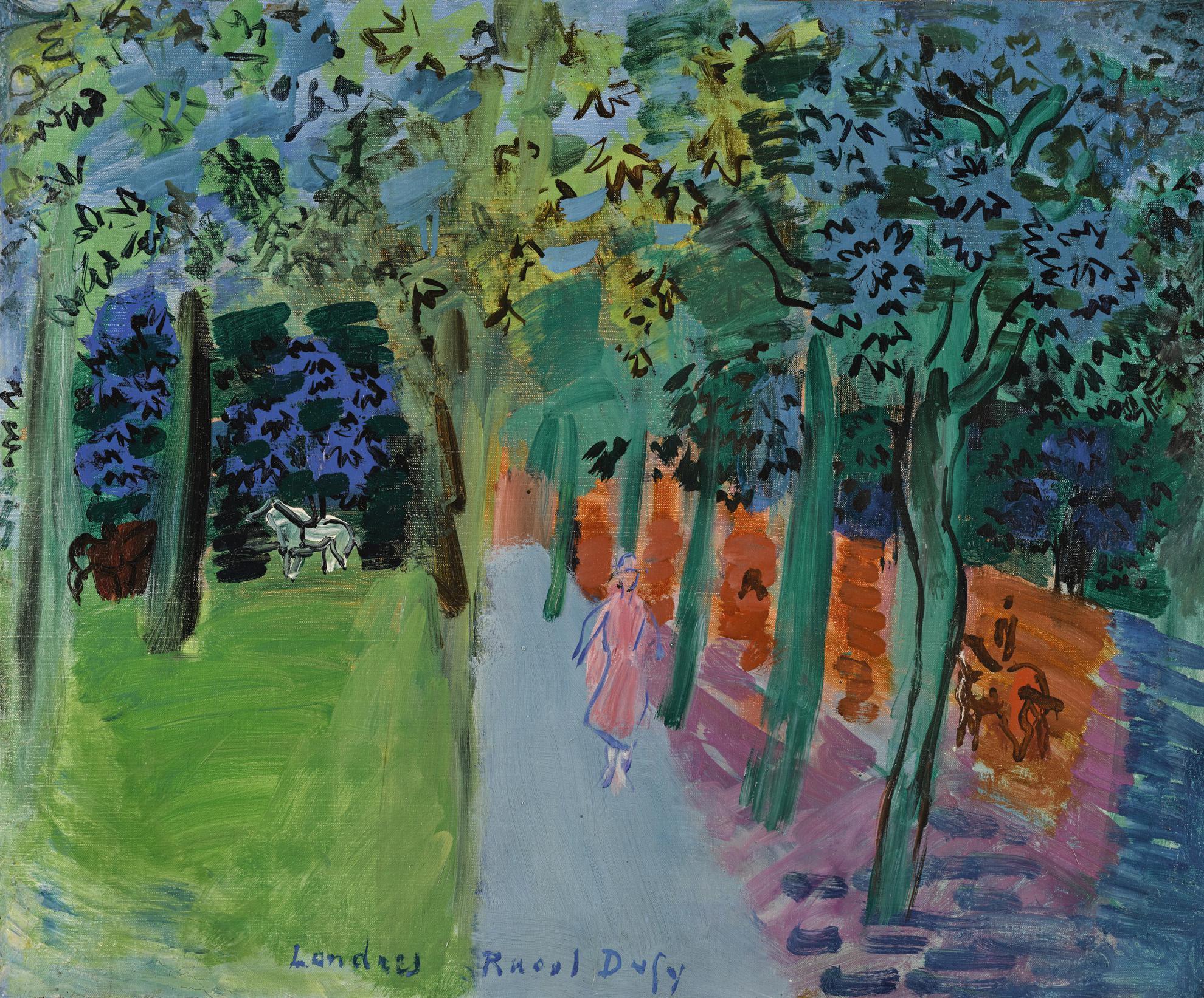 Raoul Dufy-Paysage Londonien-1934