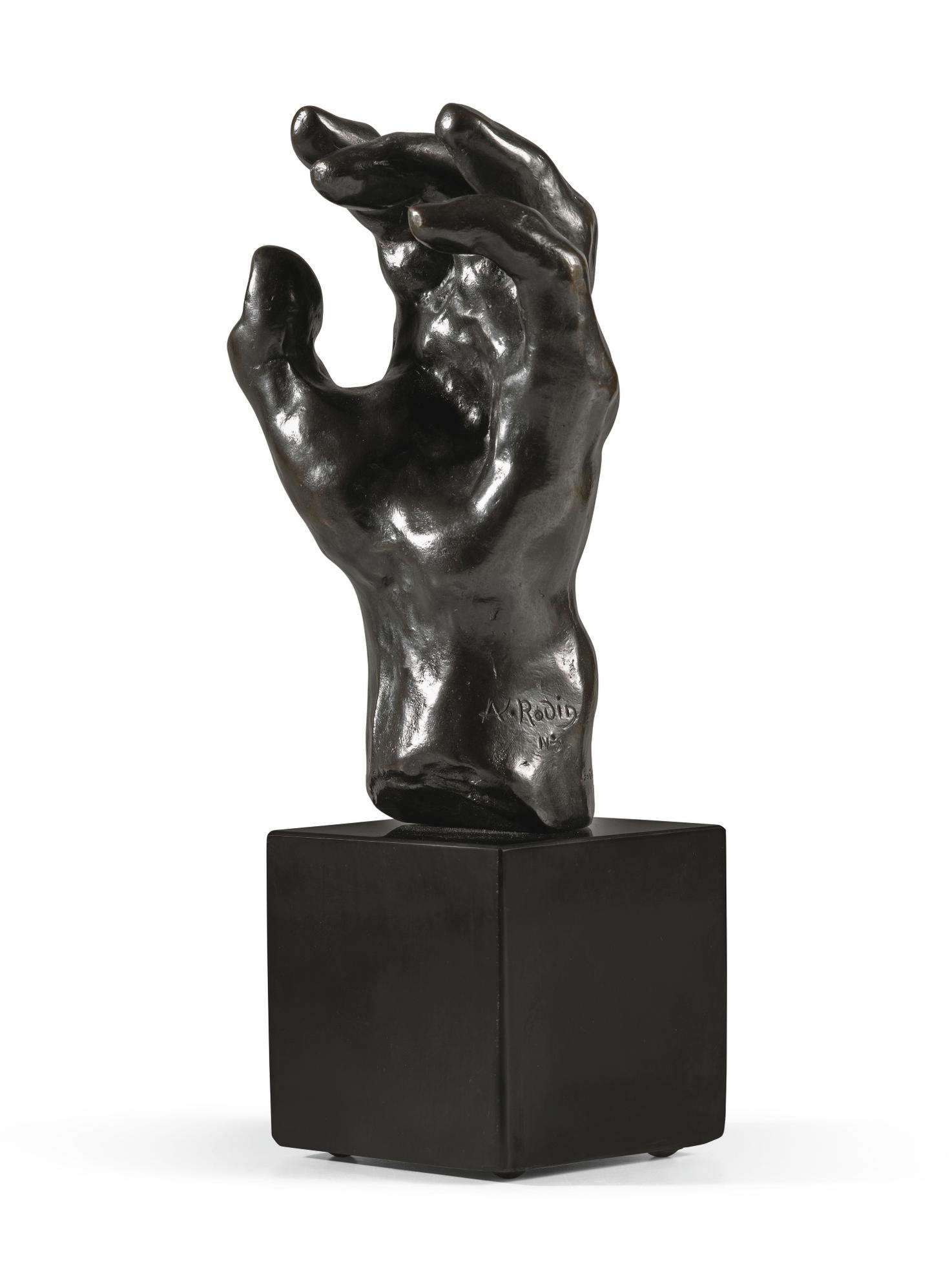 Auguste Rodin-Etude De Main Gauche Dite Main No.39-1980
