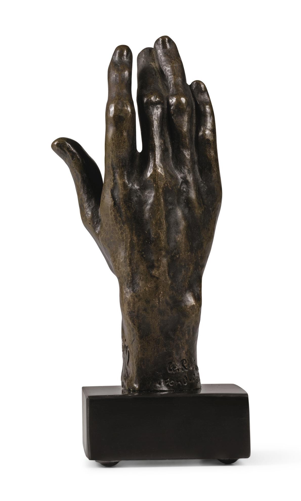 Auguste Rodin-Main Droite N°31, Petit Modele-1962