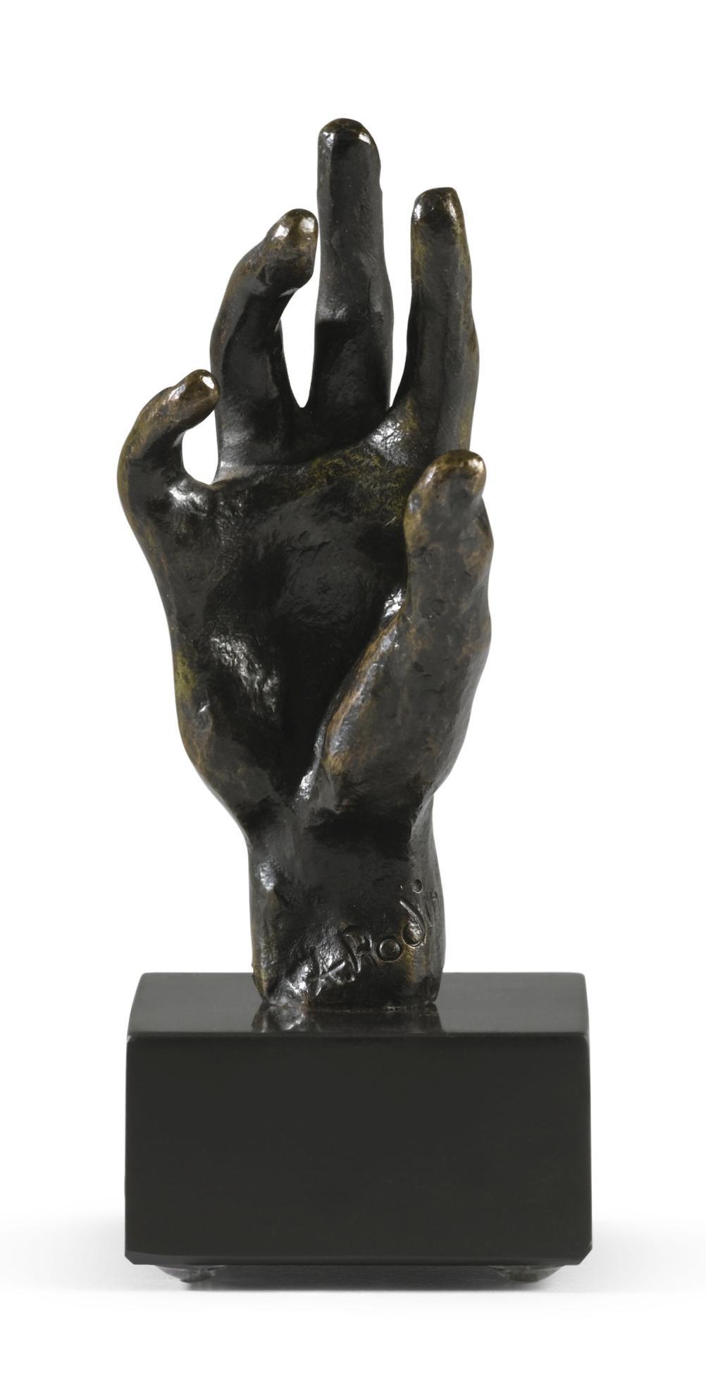 Auguste Rodin-Main Droite N°32, Petit Modele-1962