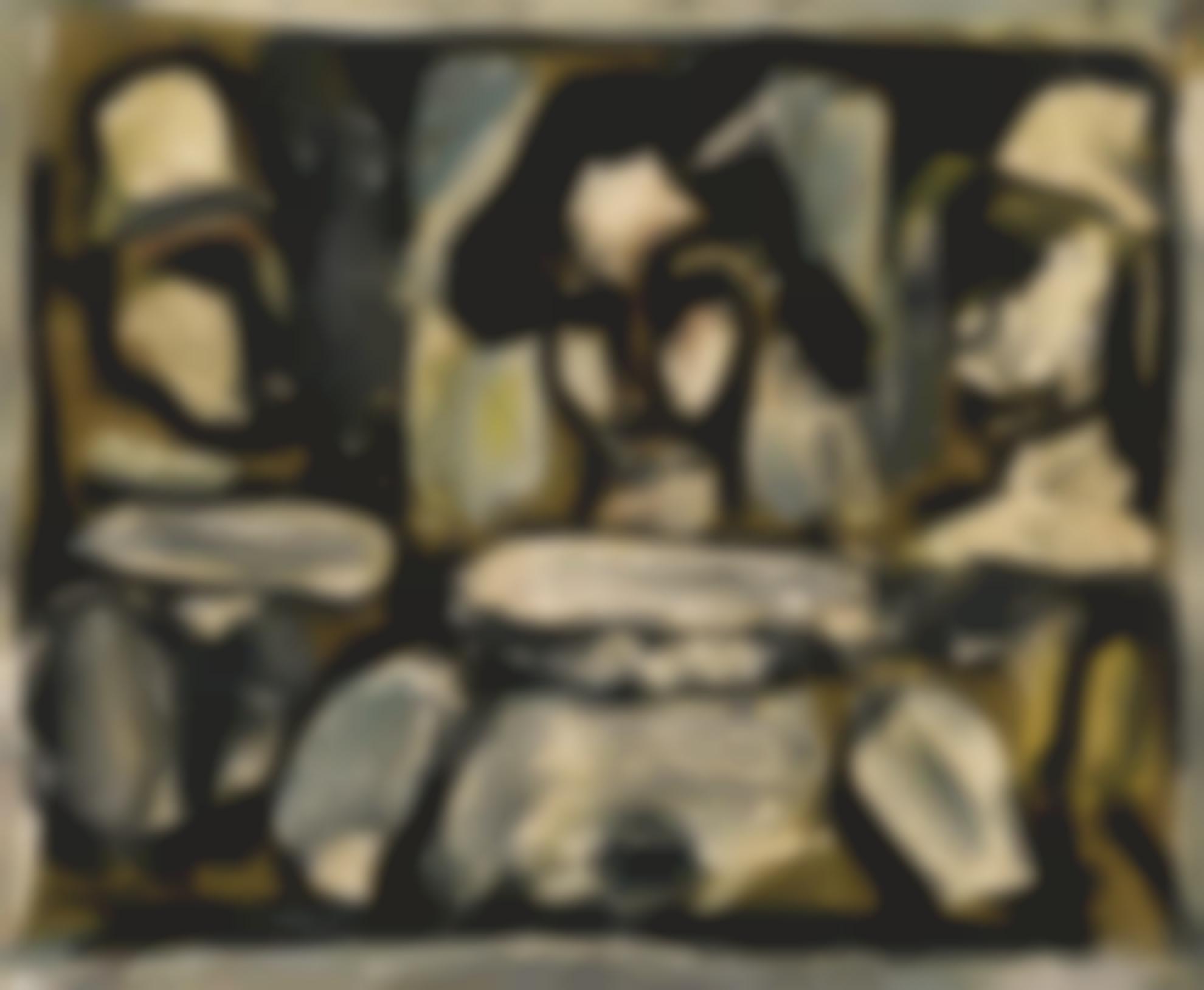 Georges Rouault-Trio (Arlequin Et Clowns)-1917