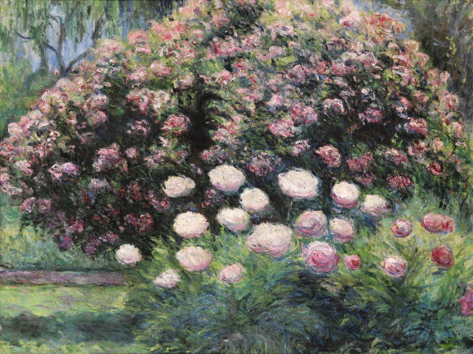 Blanche Hoschede-Monet - Jardin A Giverny-