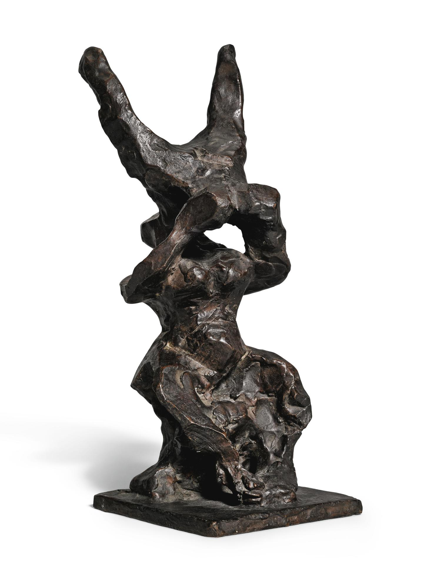 Jacques Lipchitz-Study For Return Of The Child-1941