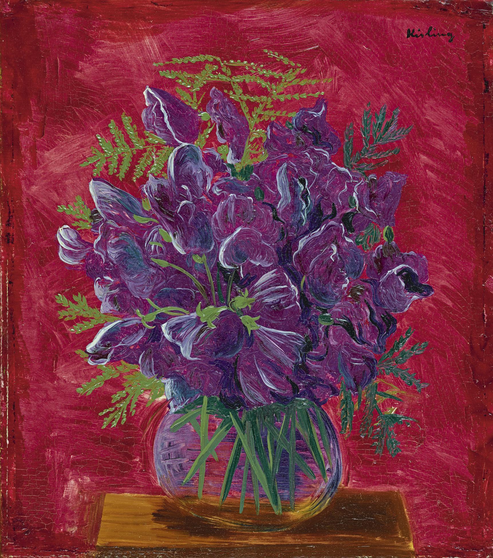Moise Kisling-Fleurs-1942