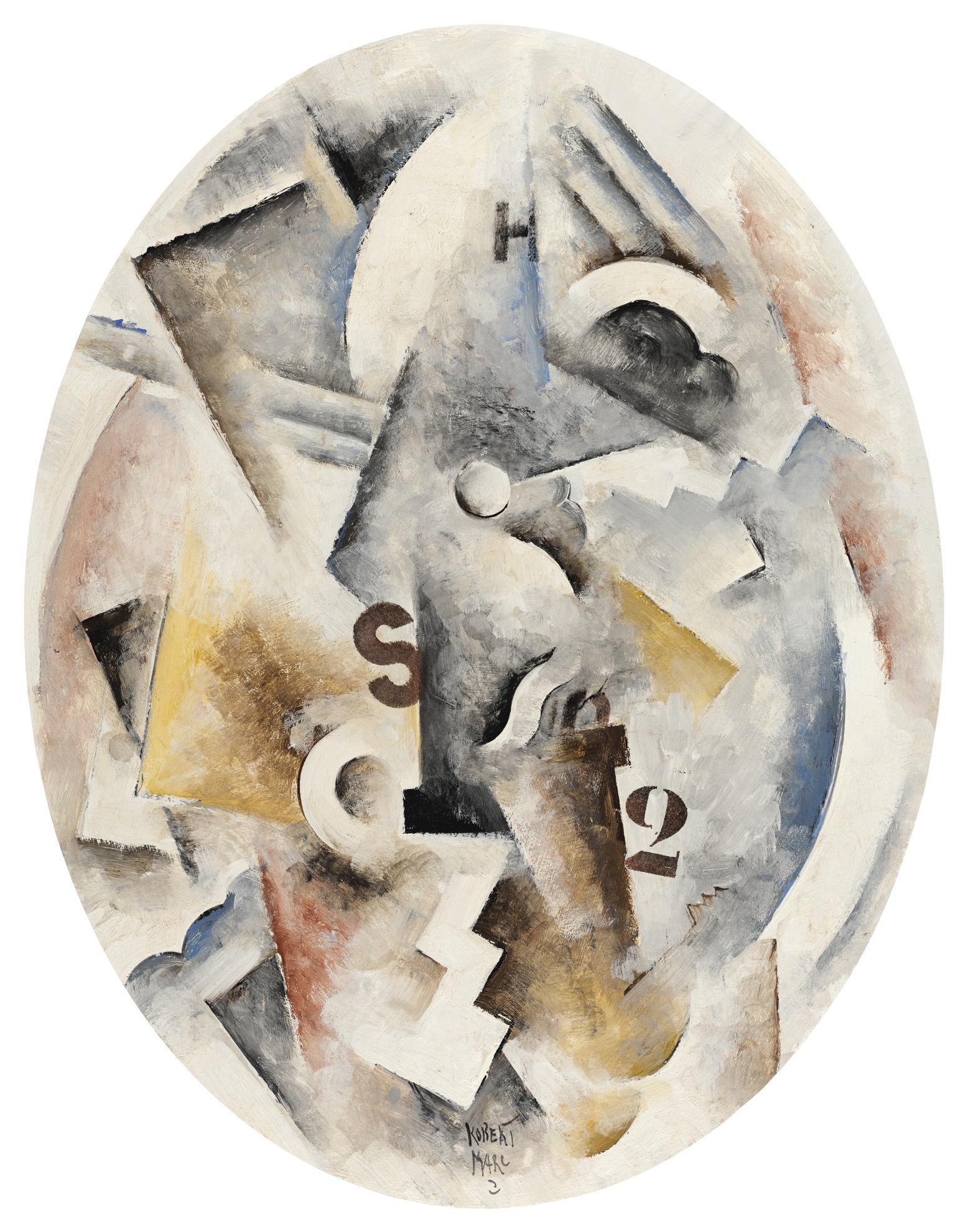 Robert Marc-Composition Cubiste 52-1988