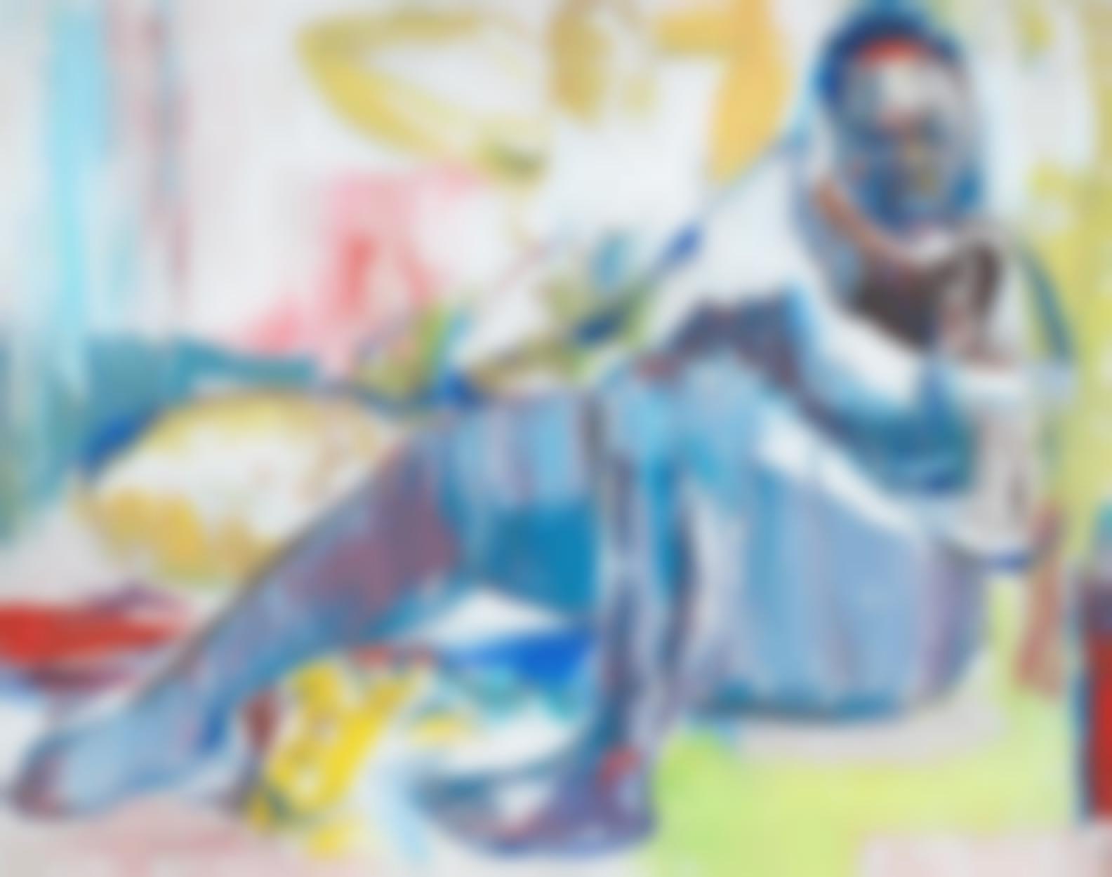 Amon Kotei - Seated Woman-2004