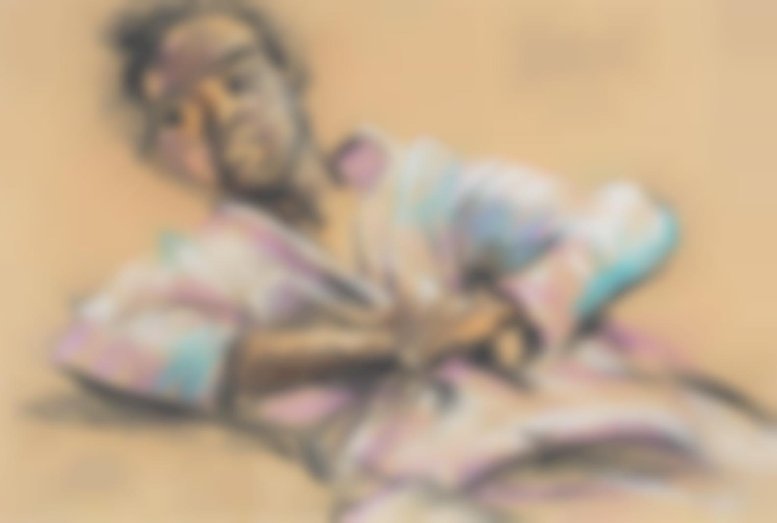 Benedict Chukwukadibia Enwonwu M.B.E - Boy With Hands Folded-1953