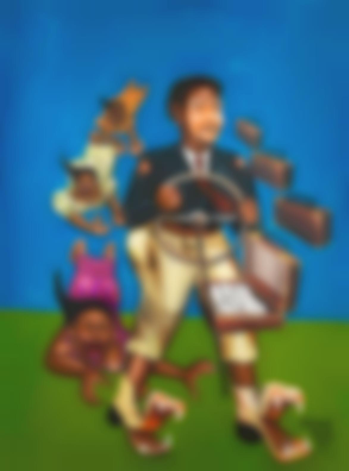 Monsengwo Kejwamfi 'Moke' - Moke Na Pas De Largent (Moke Doesnt Have Any Money)-