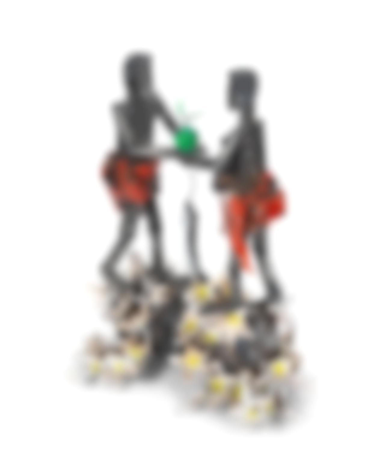 Sokari Douglas Camp - Conversation With Eve (Snake Frangipani) 2016-