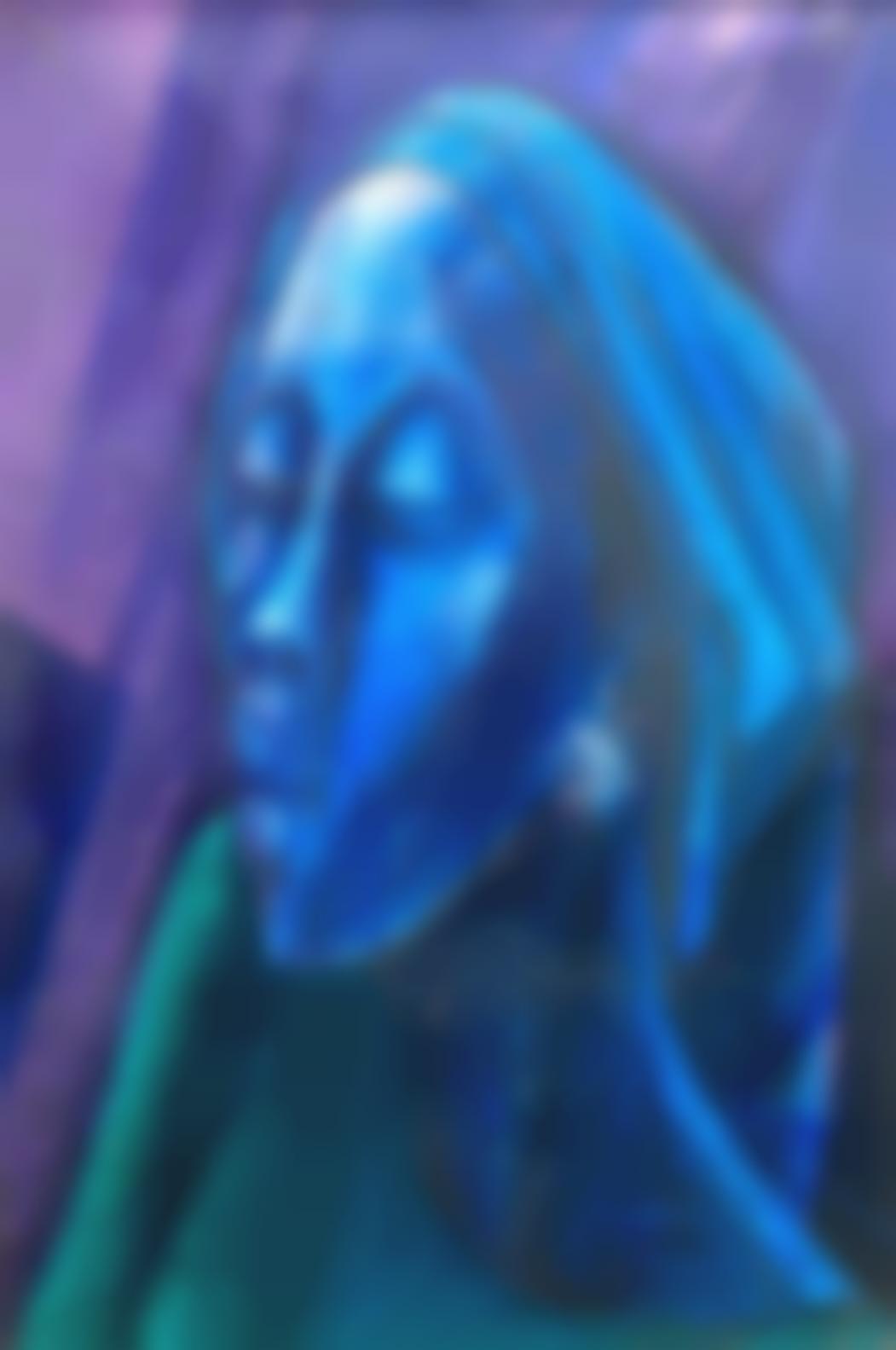 Yusuf Adebayo Cameron Grillo - Woman In Blue-