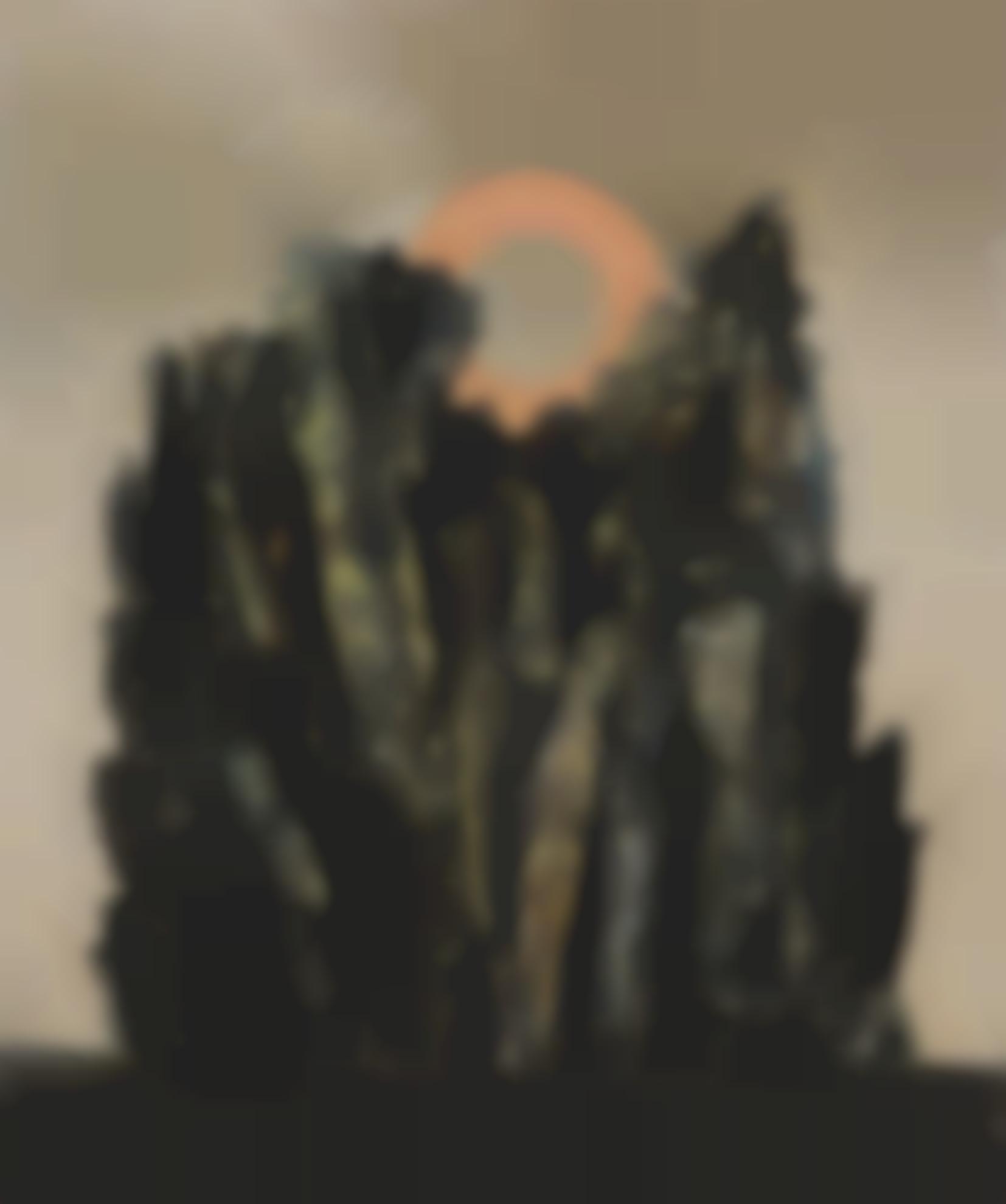 Max Ernst-Foret Et Soleil-1926