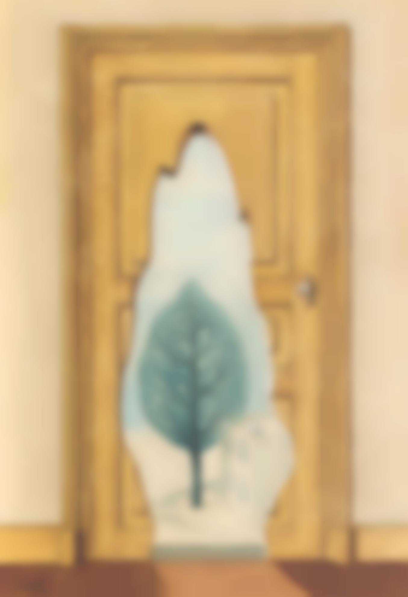 Rene Magritte-La Perspective Amoureuse-1936