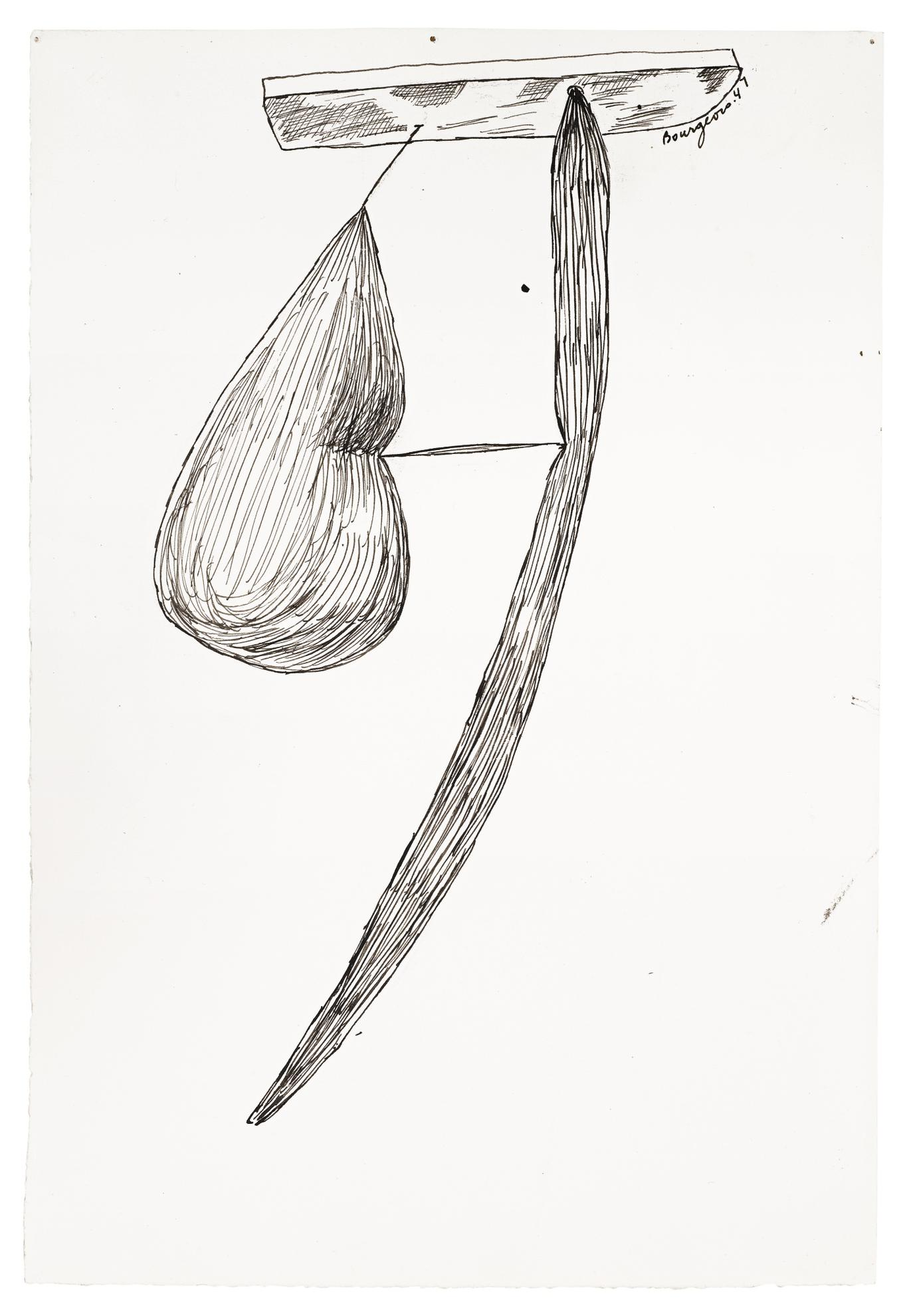 Louise Bourgeois-Untitled-1947