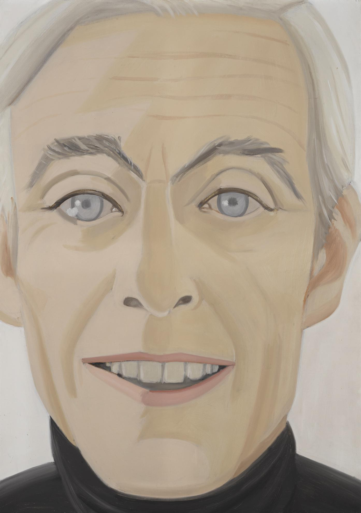Alex Katz-Portrait Of Edwin Denby-1972