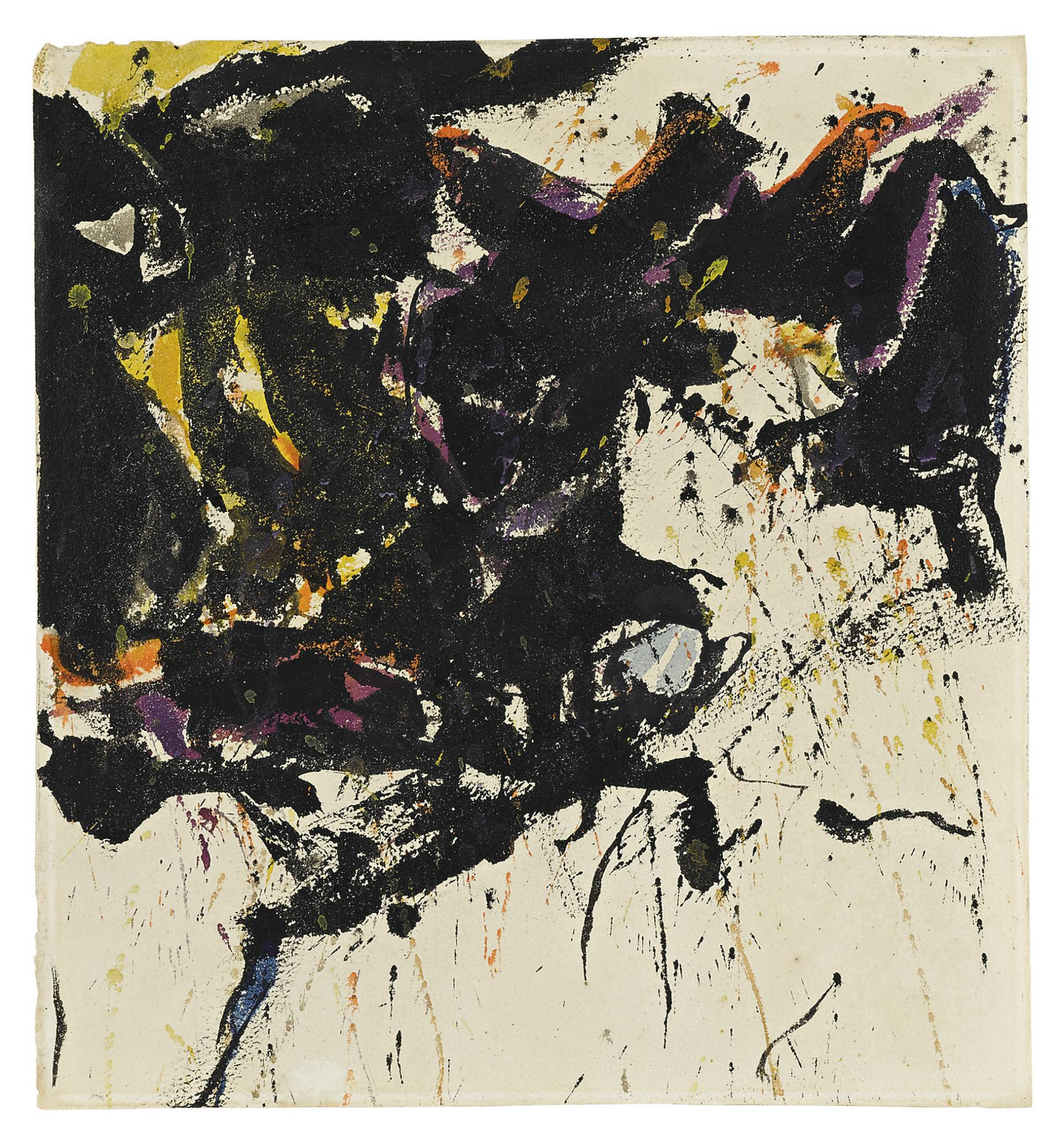 Sam Francis-The Yellow And White Square-1959