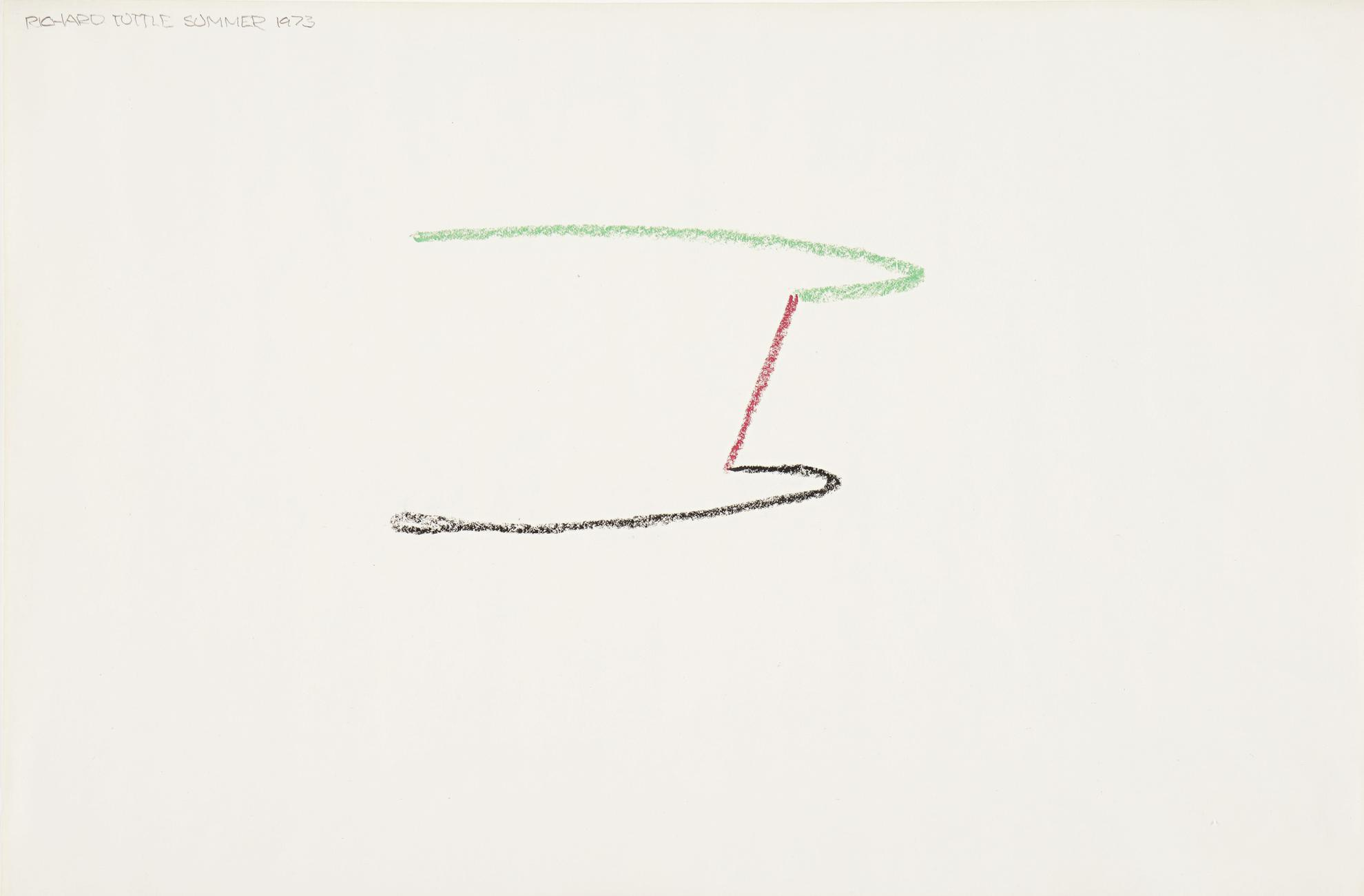 Richard Tuttle-Summer Of 1973 Series-1973