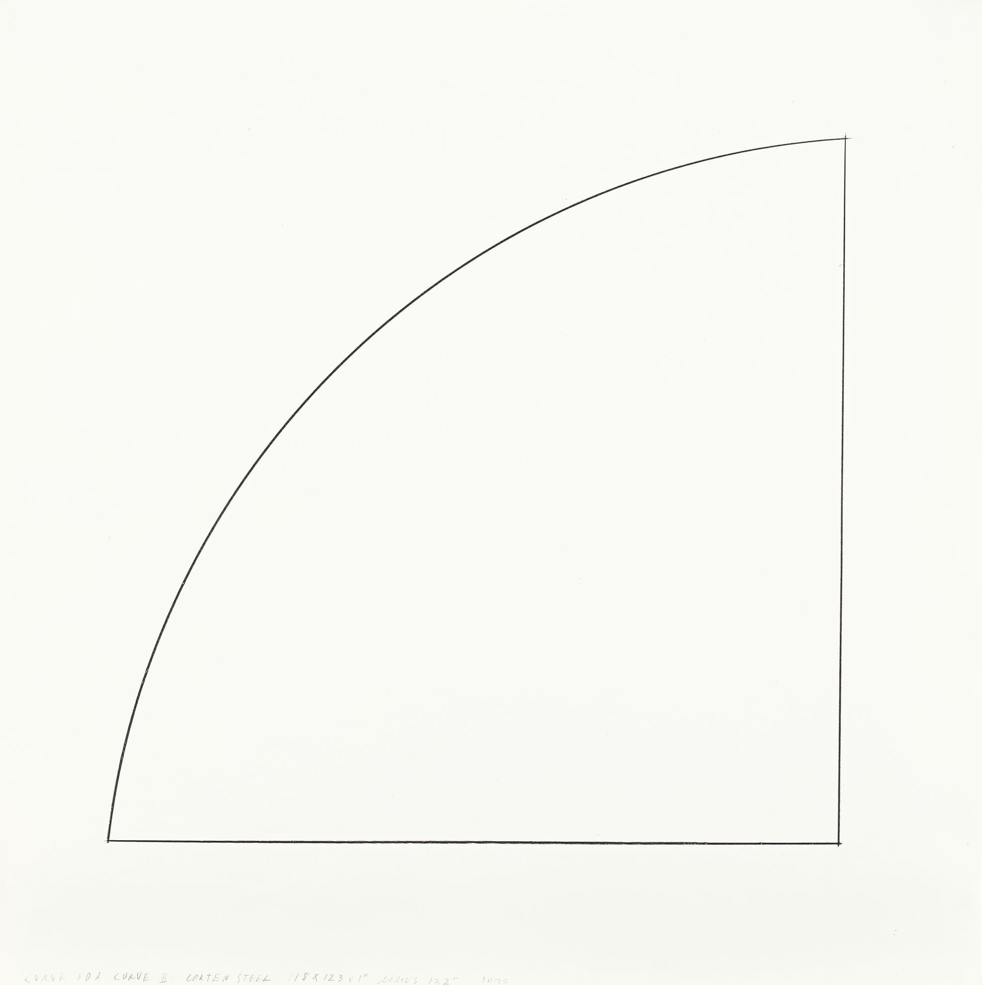 Ellsworth Kelly-Study For Curve II-1973