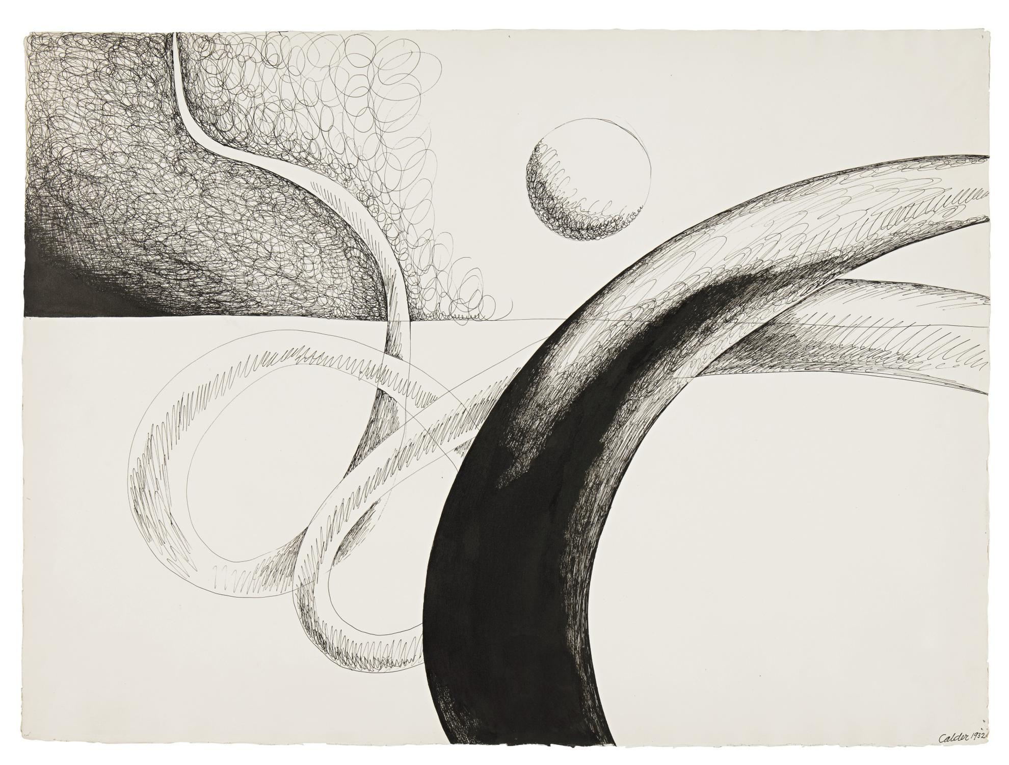 Alexander Calder-Serpentine-1932