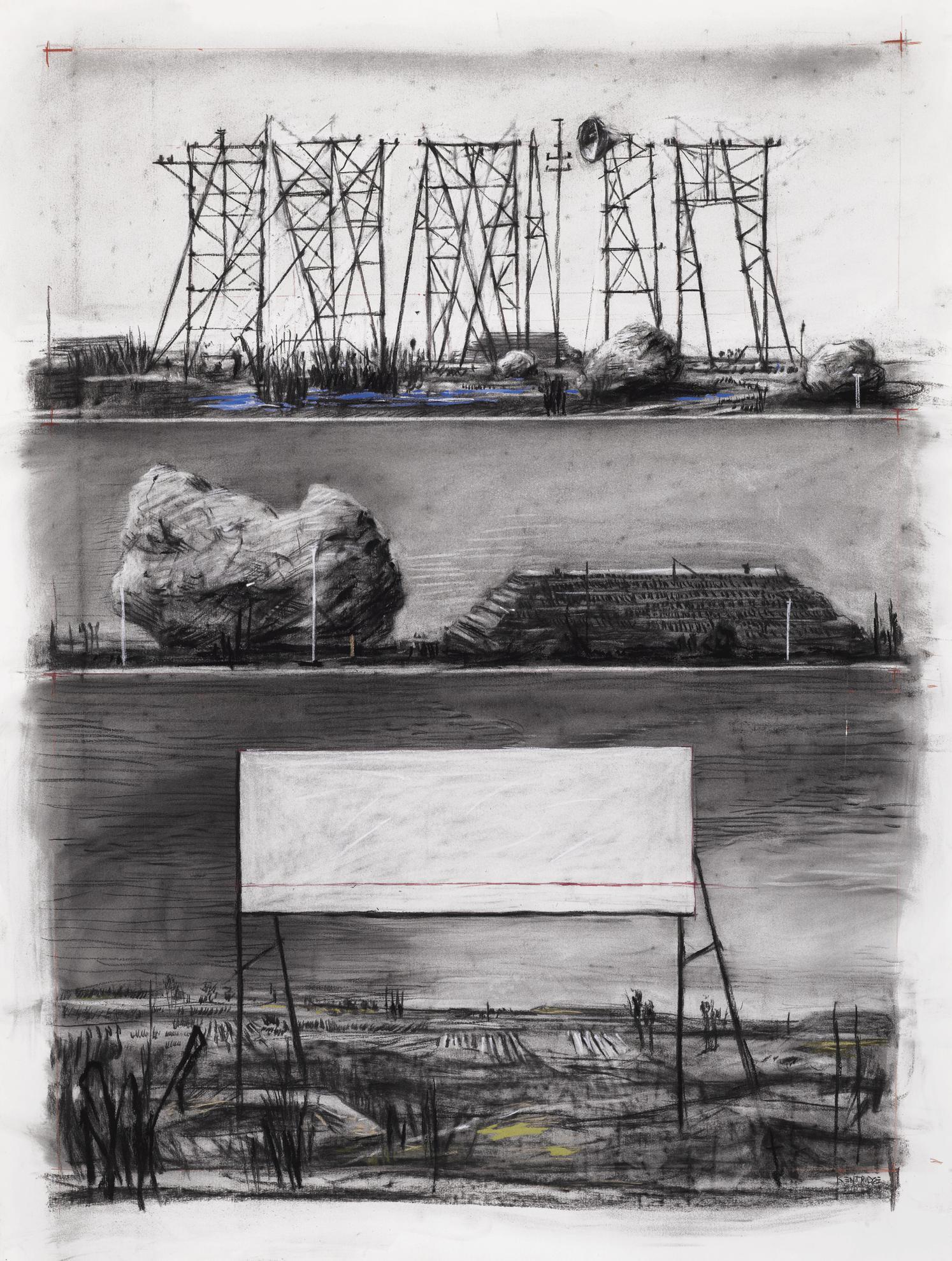 William Kentridge-Known, But Not Seen-2000