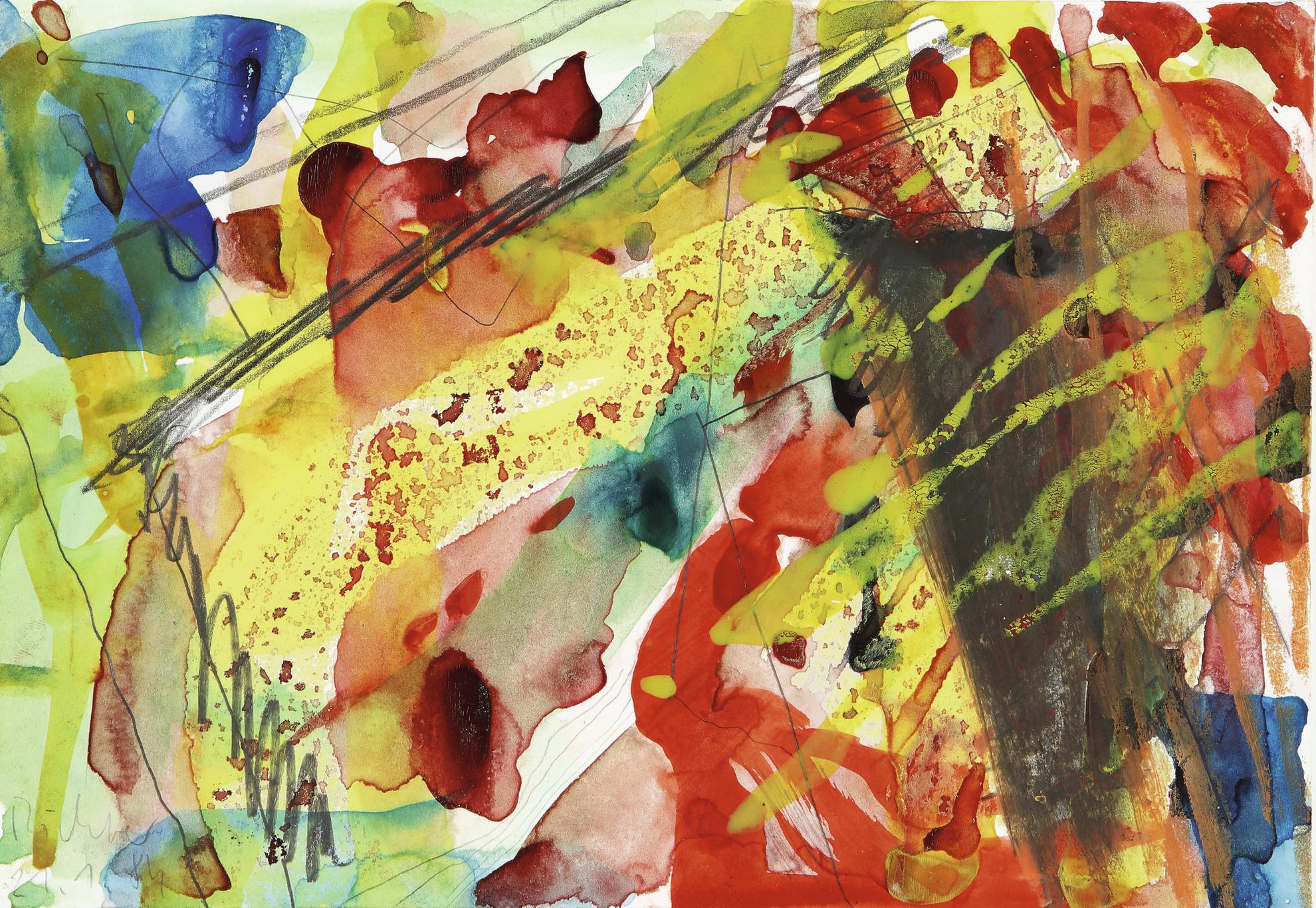 Gerhard Richter-G. El. 4, 21.4.84-1984