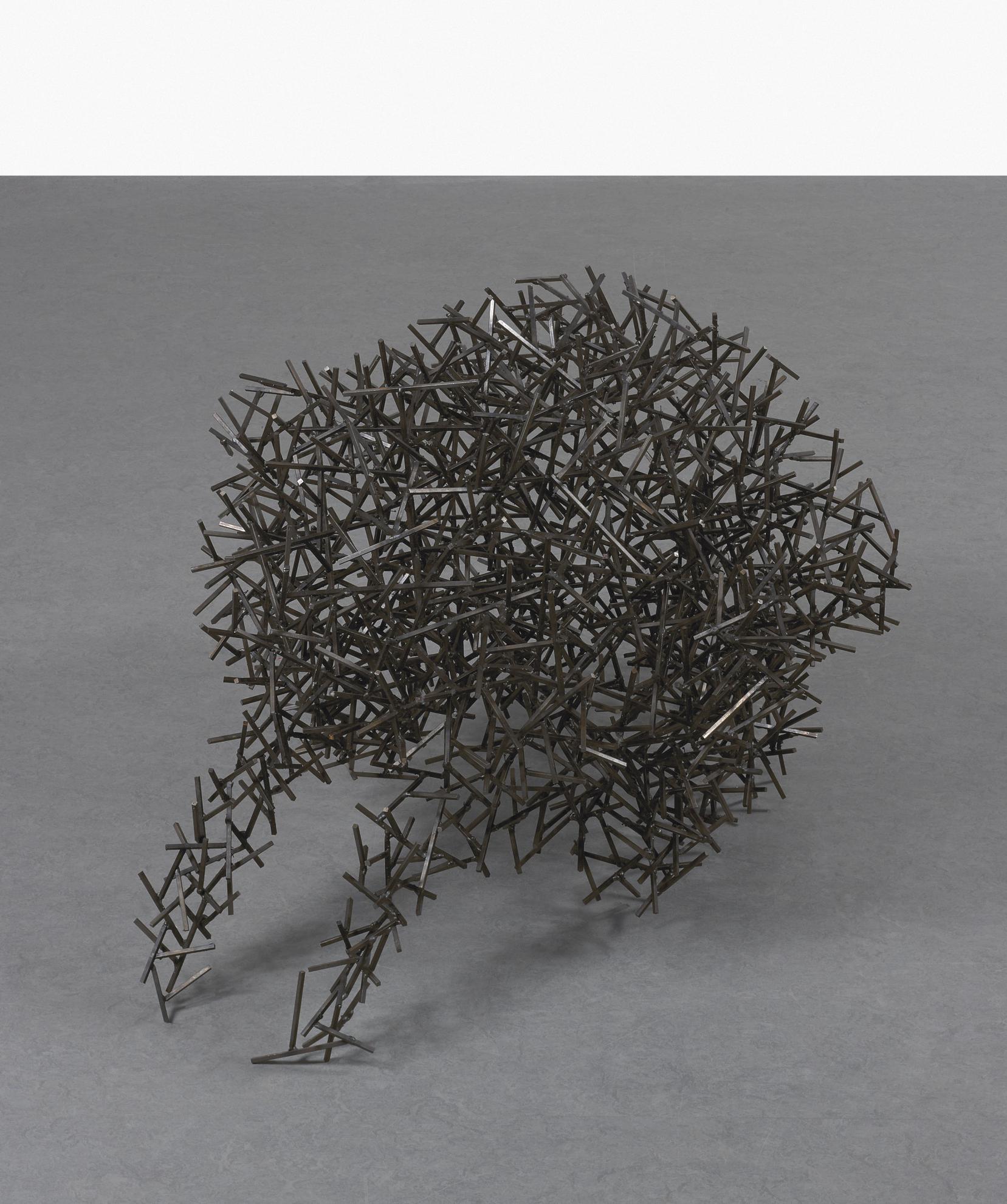 Antony Gormley-Domain Viii (Crouching)-1999