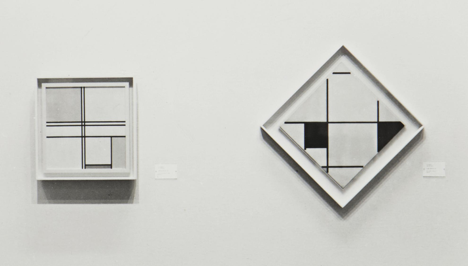 Louise Lawler-Two Mondrians: At The Art Institute Of Chicago-1982