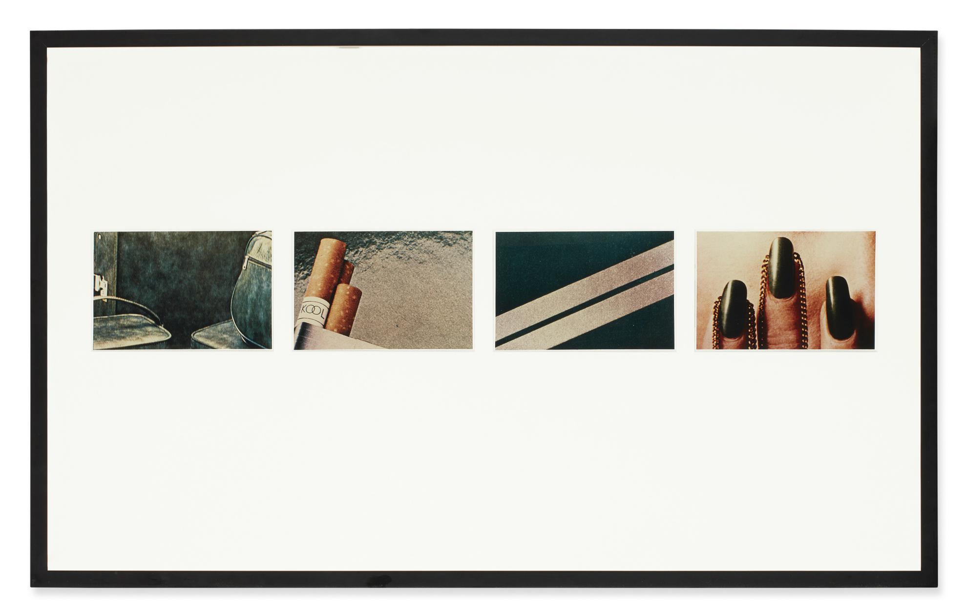 Richard Prince-Green (Luggage, Cigarettes, Graphite, Jewelry)-1977