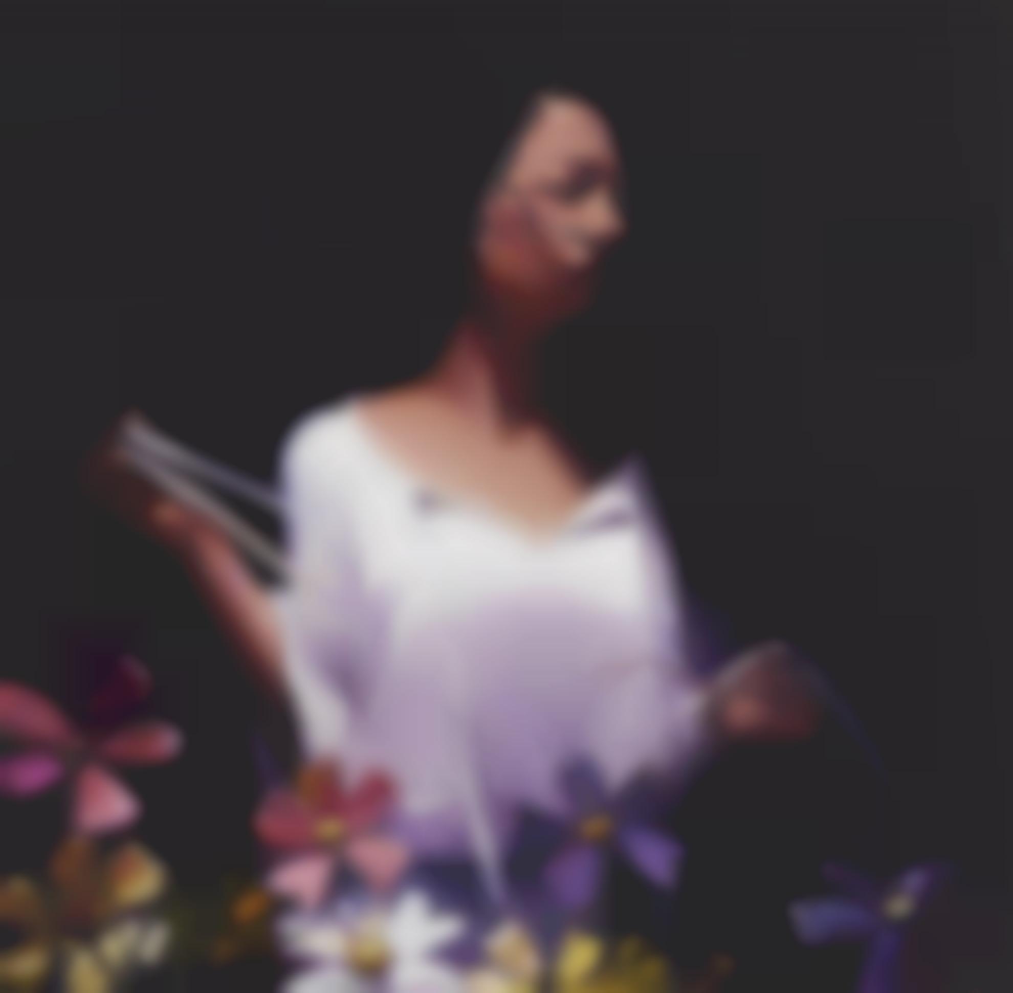 Lisa Yuskavage-G. With Flowers-2003