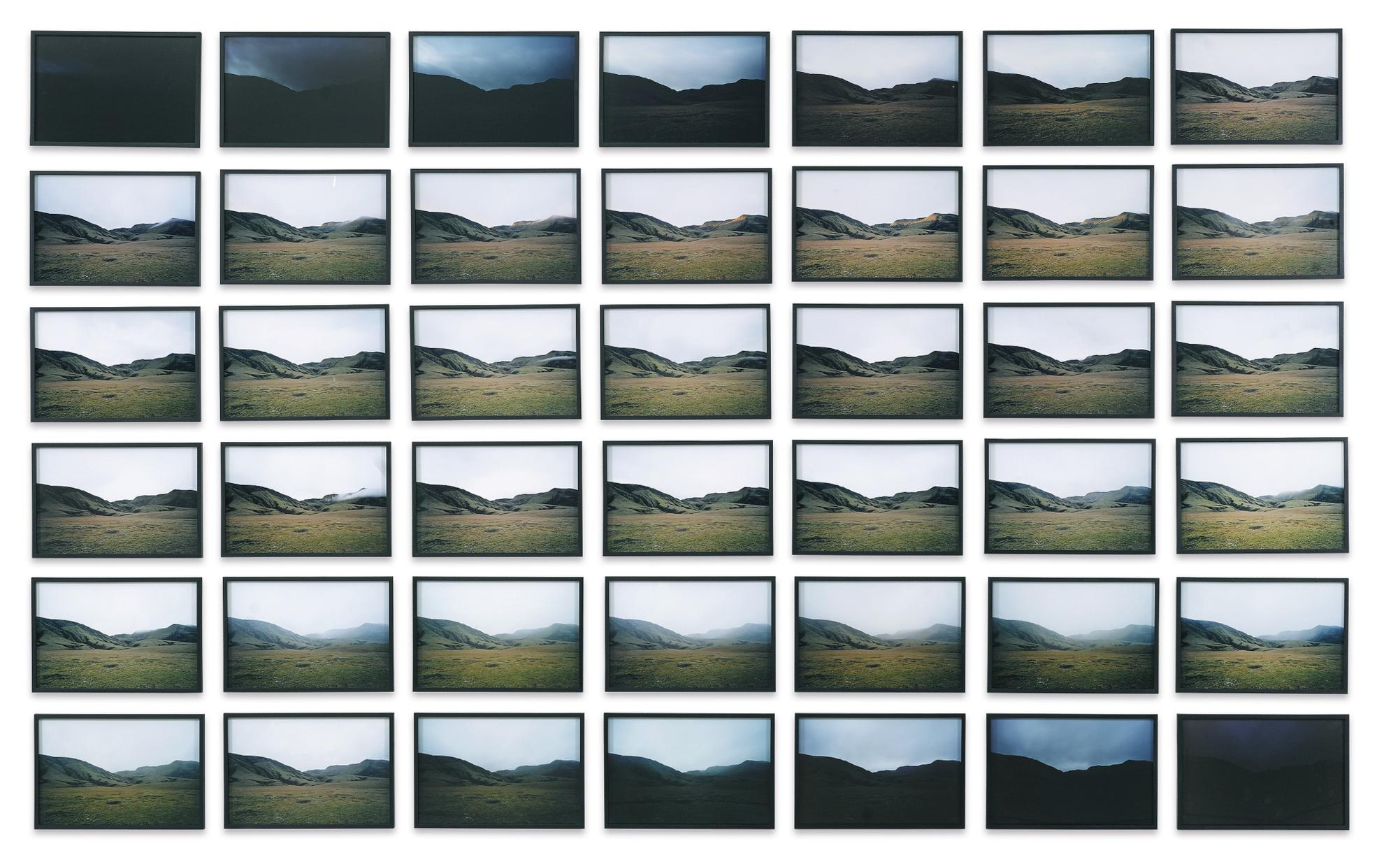 Olafur Eliasson-The Domadalur Daylight Series (South)-2006