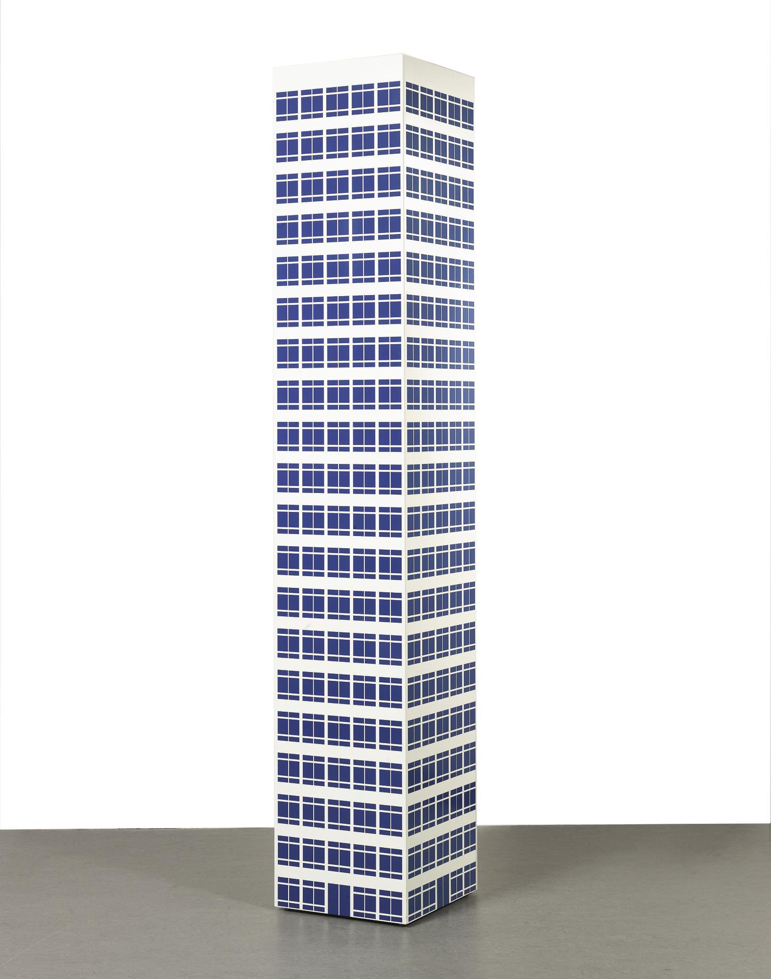 Julian Opie-Modern Tower 9-2001