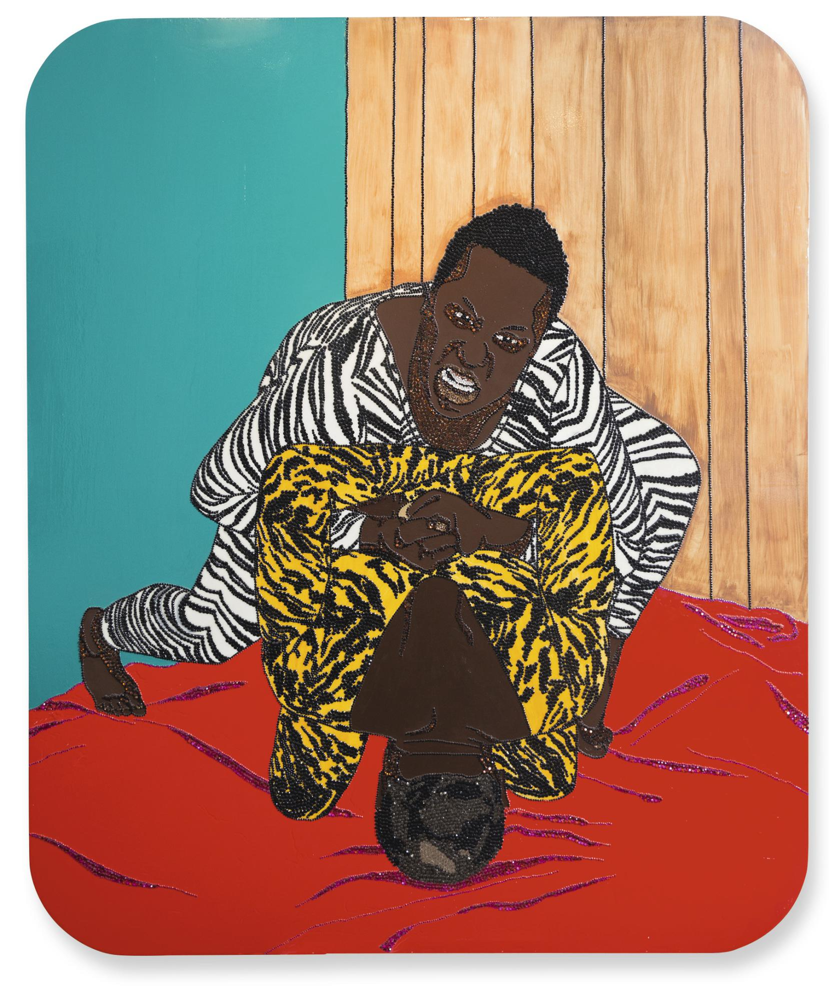 Mickalene Thomas-You Cant Turn Me Off (In The Middle Of Turning Me On)-2006