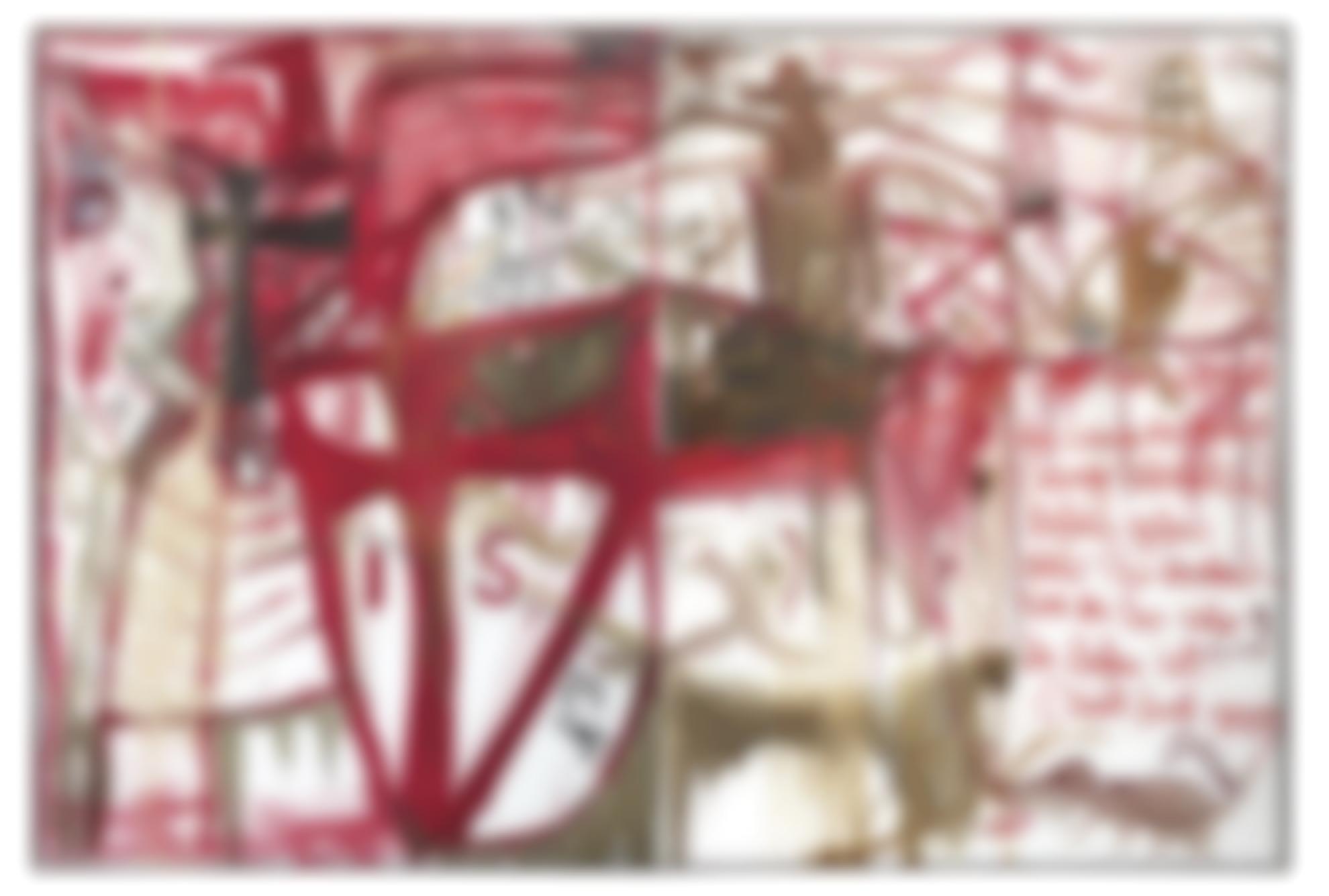 Jonathan Meese-Die Erzburg Cameloz (Sold) [Diptych]-2005