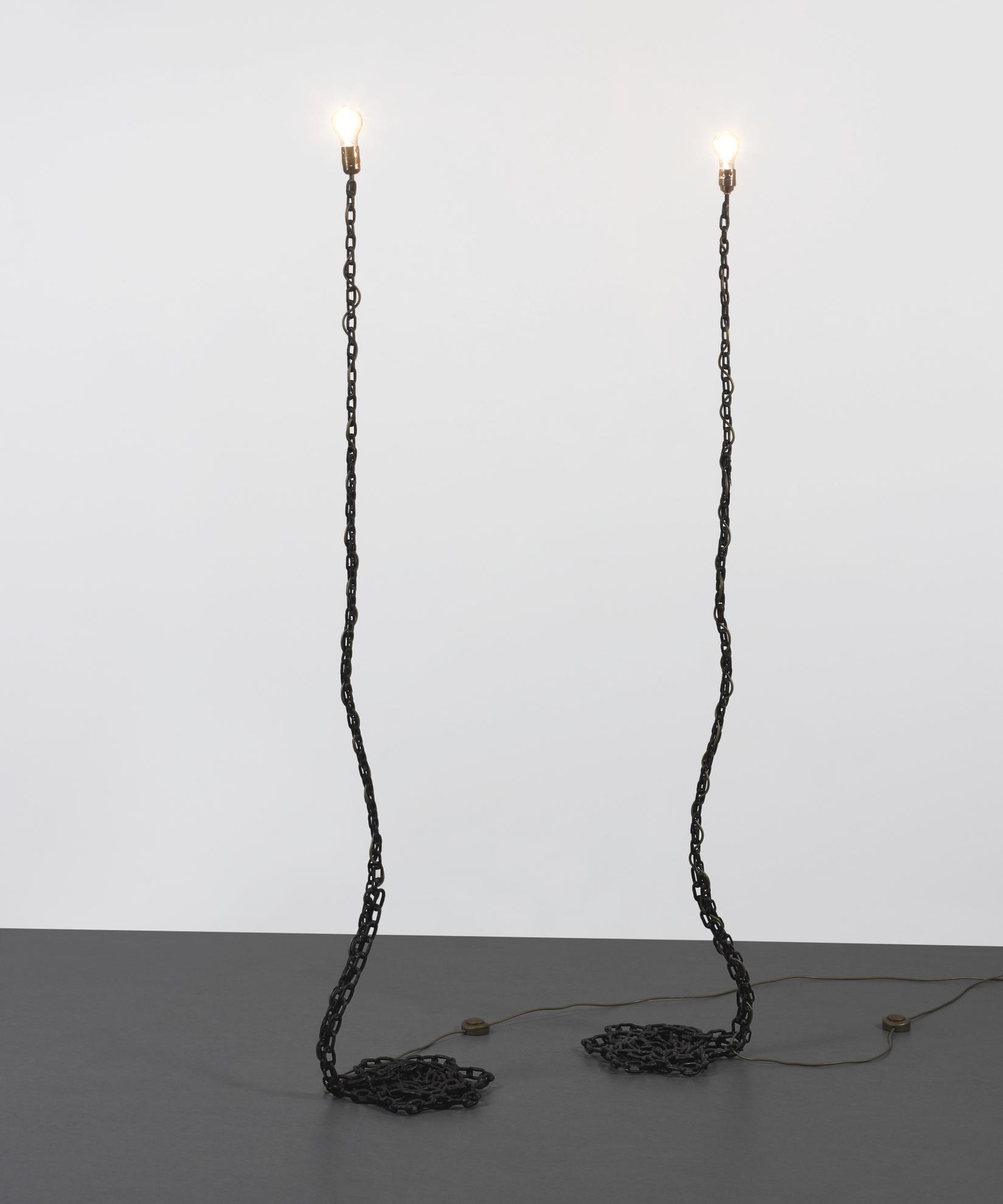 Franz West-Private-Lampe Des Kunstlers II [Two Works]-1989