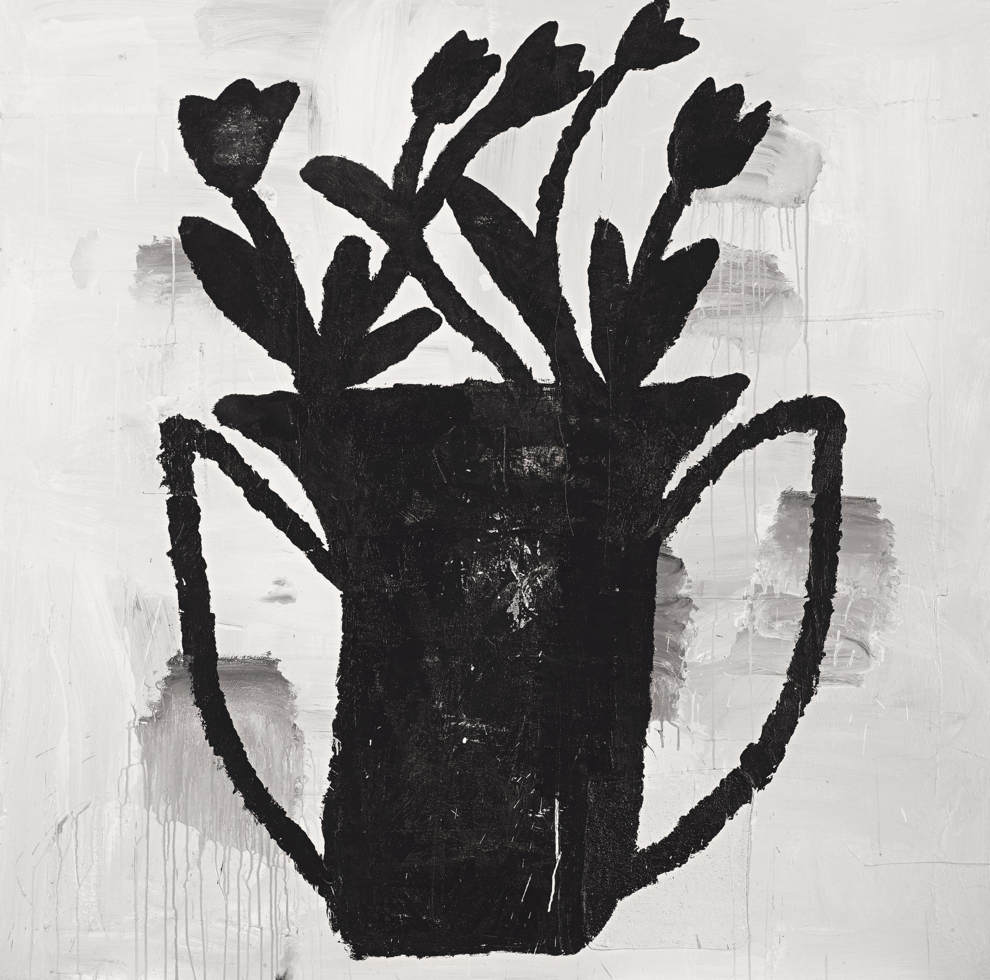Donald Baechler-Flowers #21-98-1998