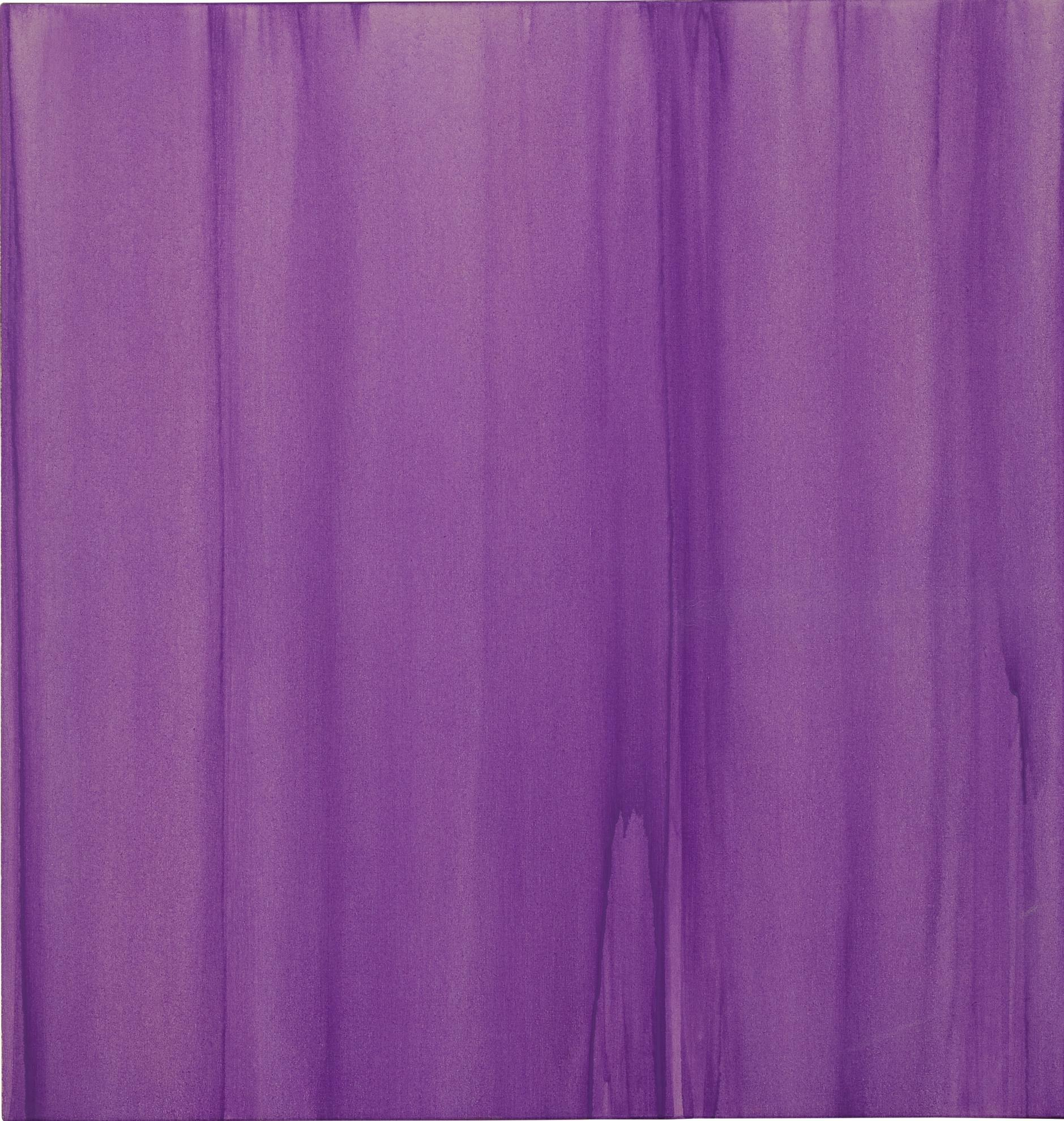 Callum Innes-Formed Painting Cobalt Violet-1995