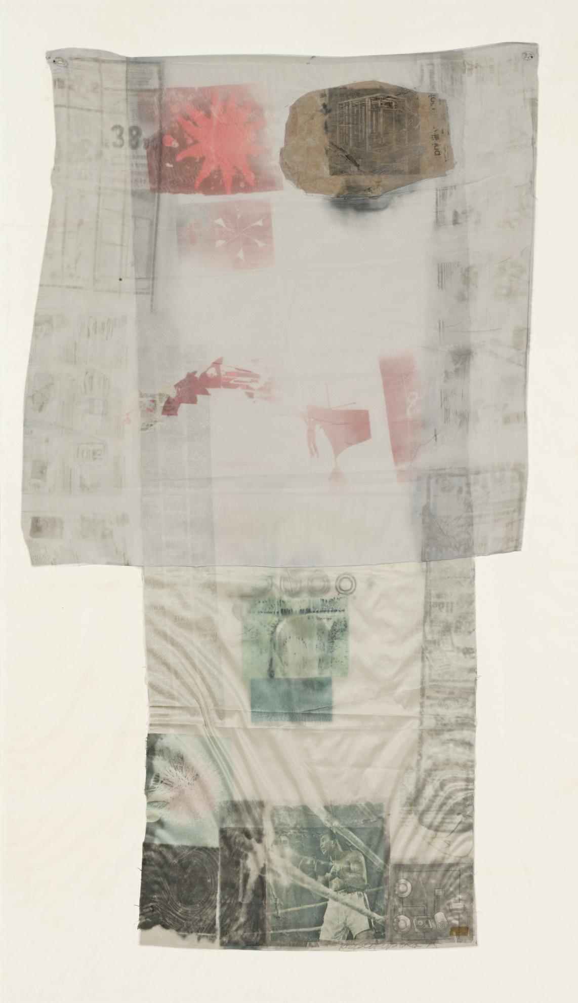 Robert Rauschenberg-Nimbus (Hoarfrost)-1975