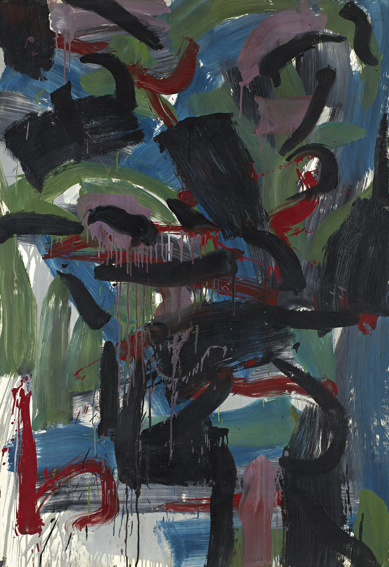 Jean-Paul Riopelle-Action-1959