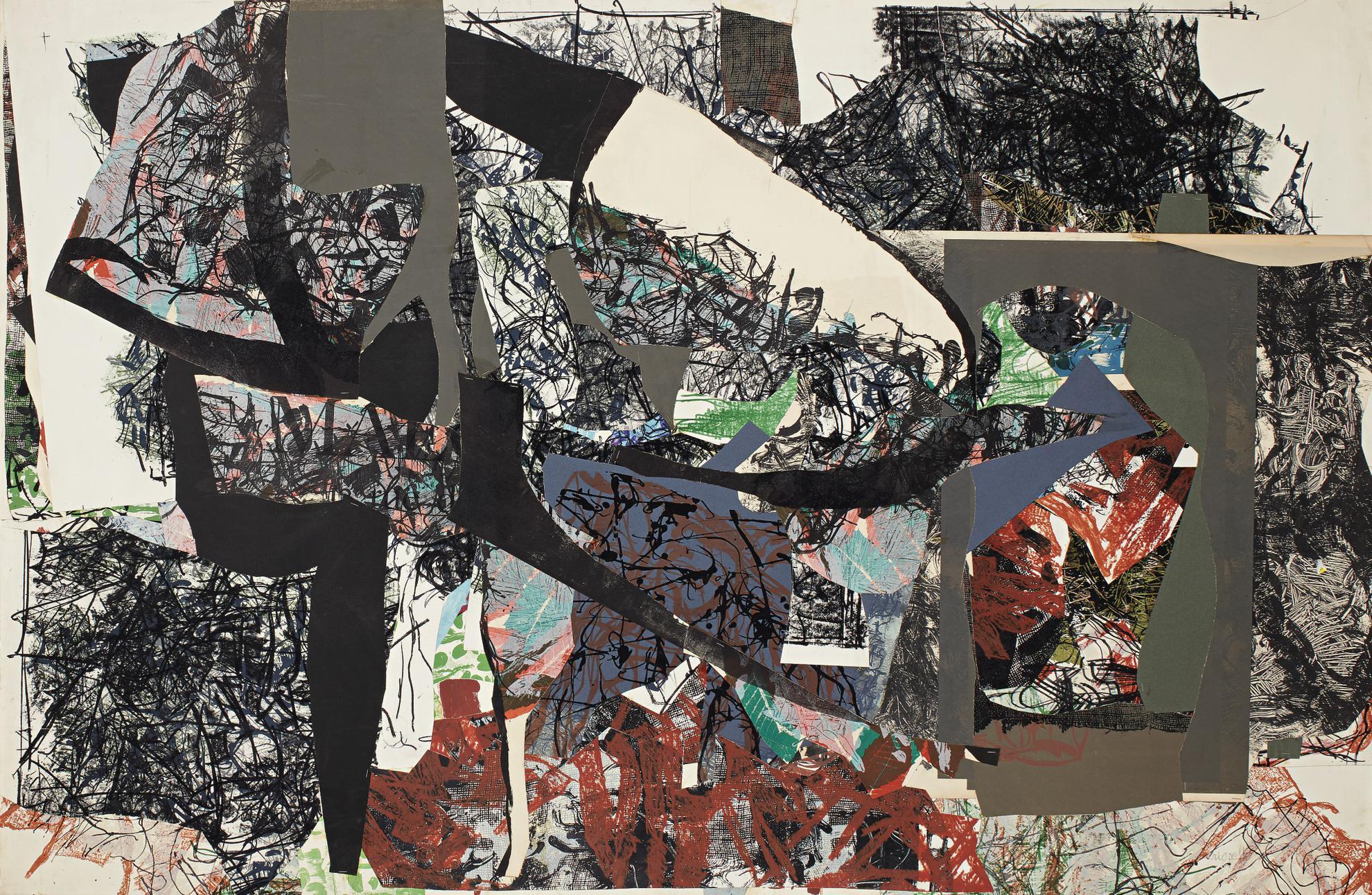 Jean-Paul Riopelle-Sur Jardin-1967