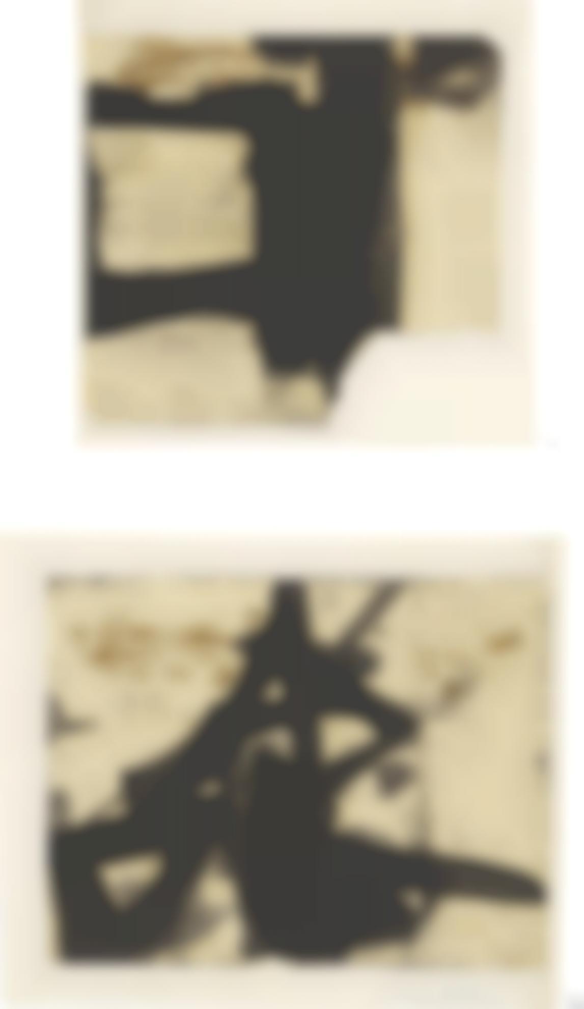 Franz Kline-Untitled [Diptych]-1952