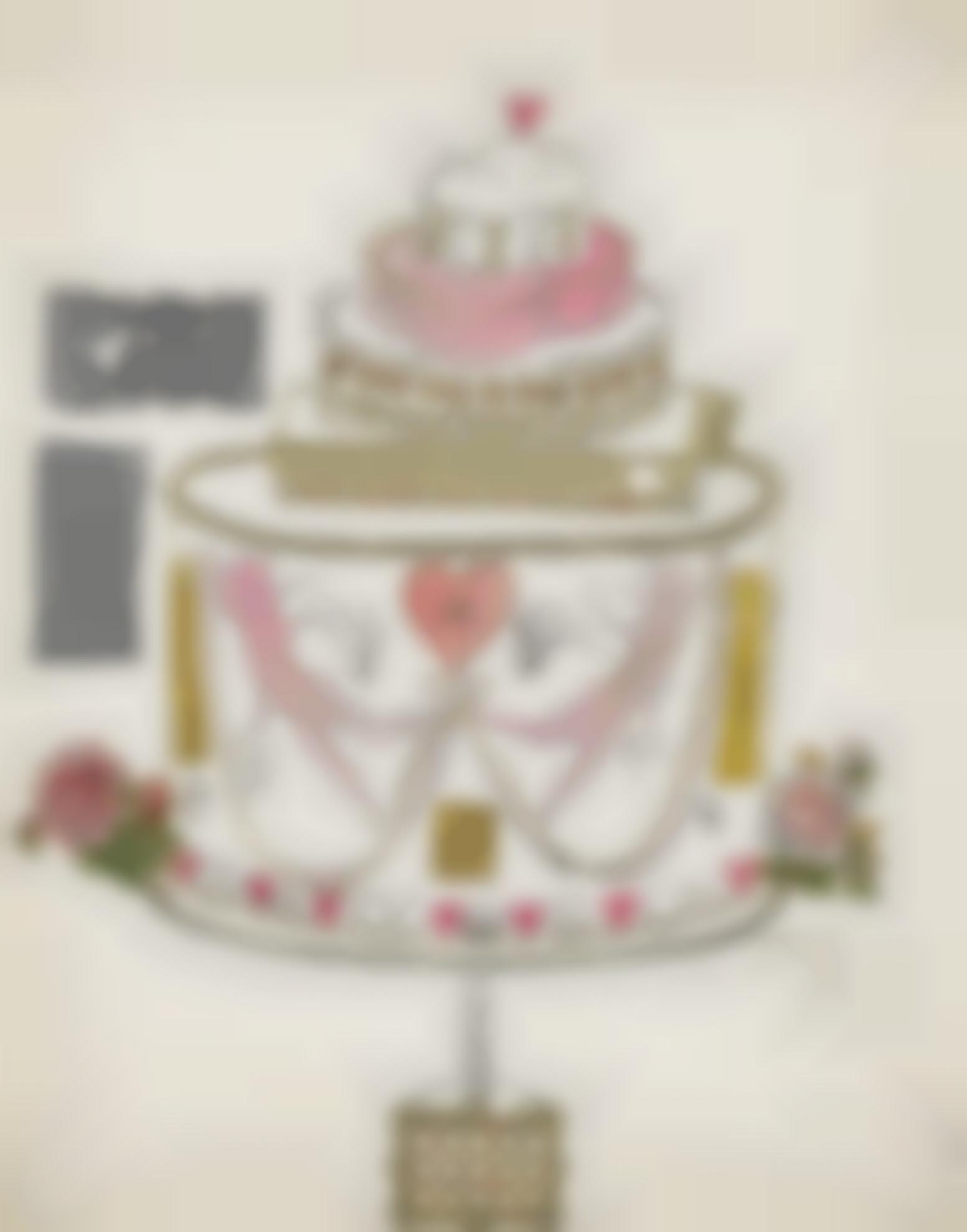 Andy Warhol-Birthday Cake-1959