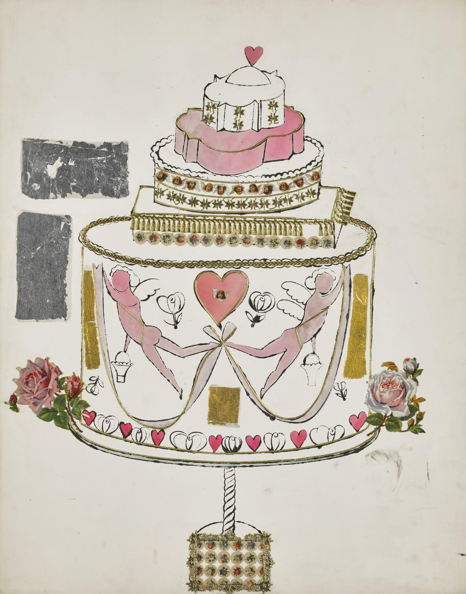 Andy Warhol-Birthday Cake-1959