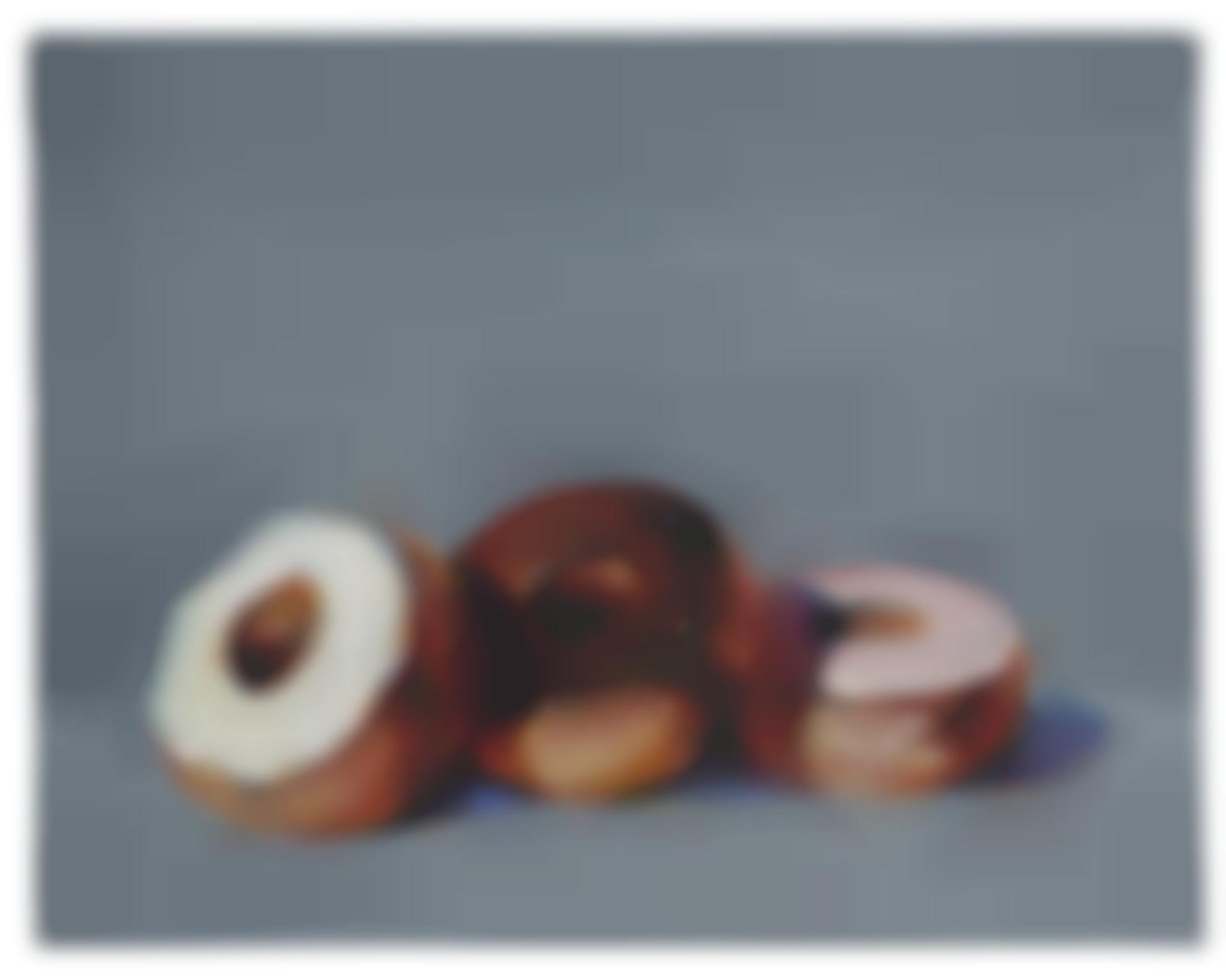 Wayne Thiebaud-Three Donuts-1994