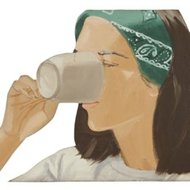 Alex Katz-Ada With Coffee Ii-1977