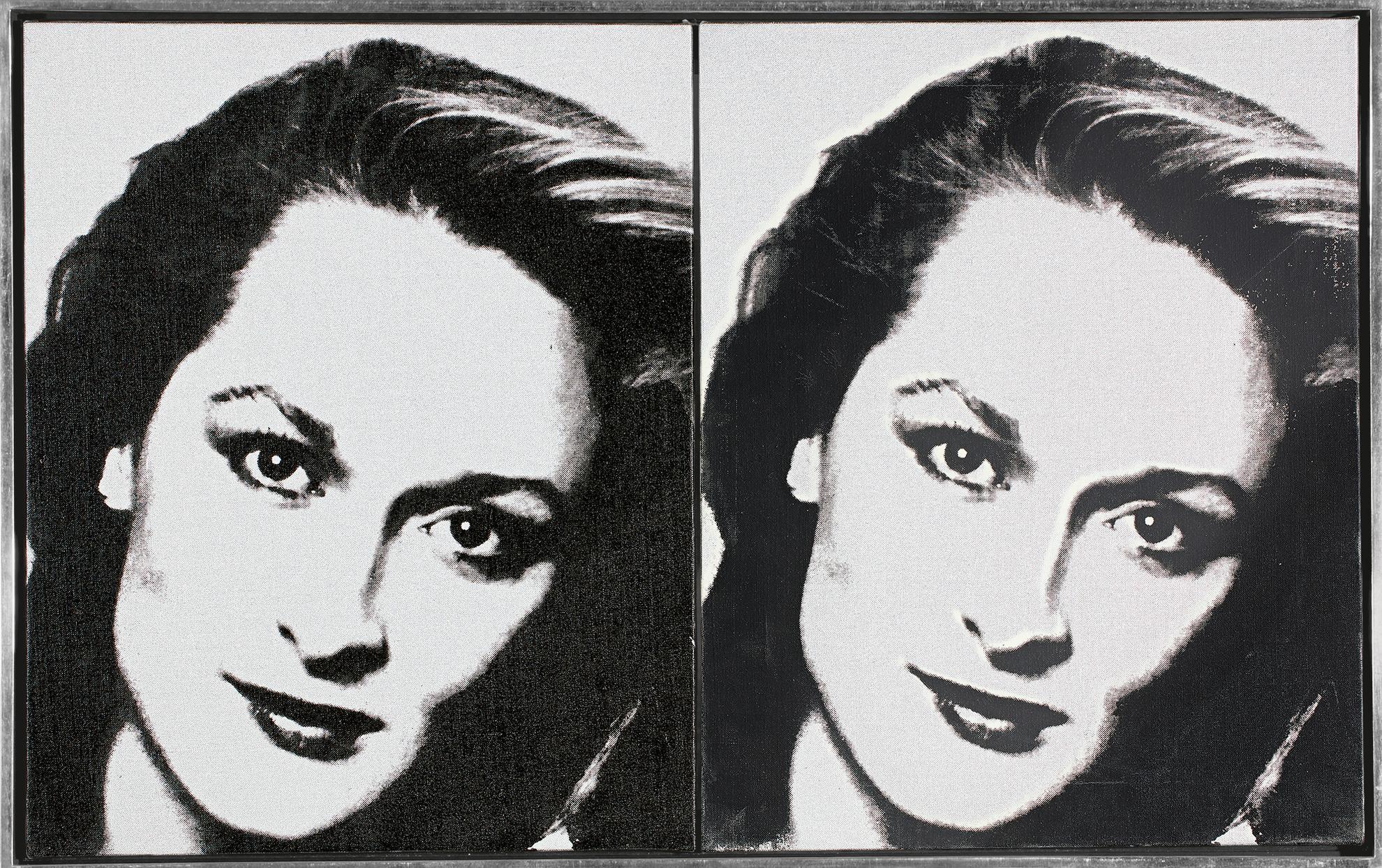 Andy Warhol-Meryl Streep-