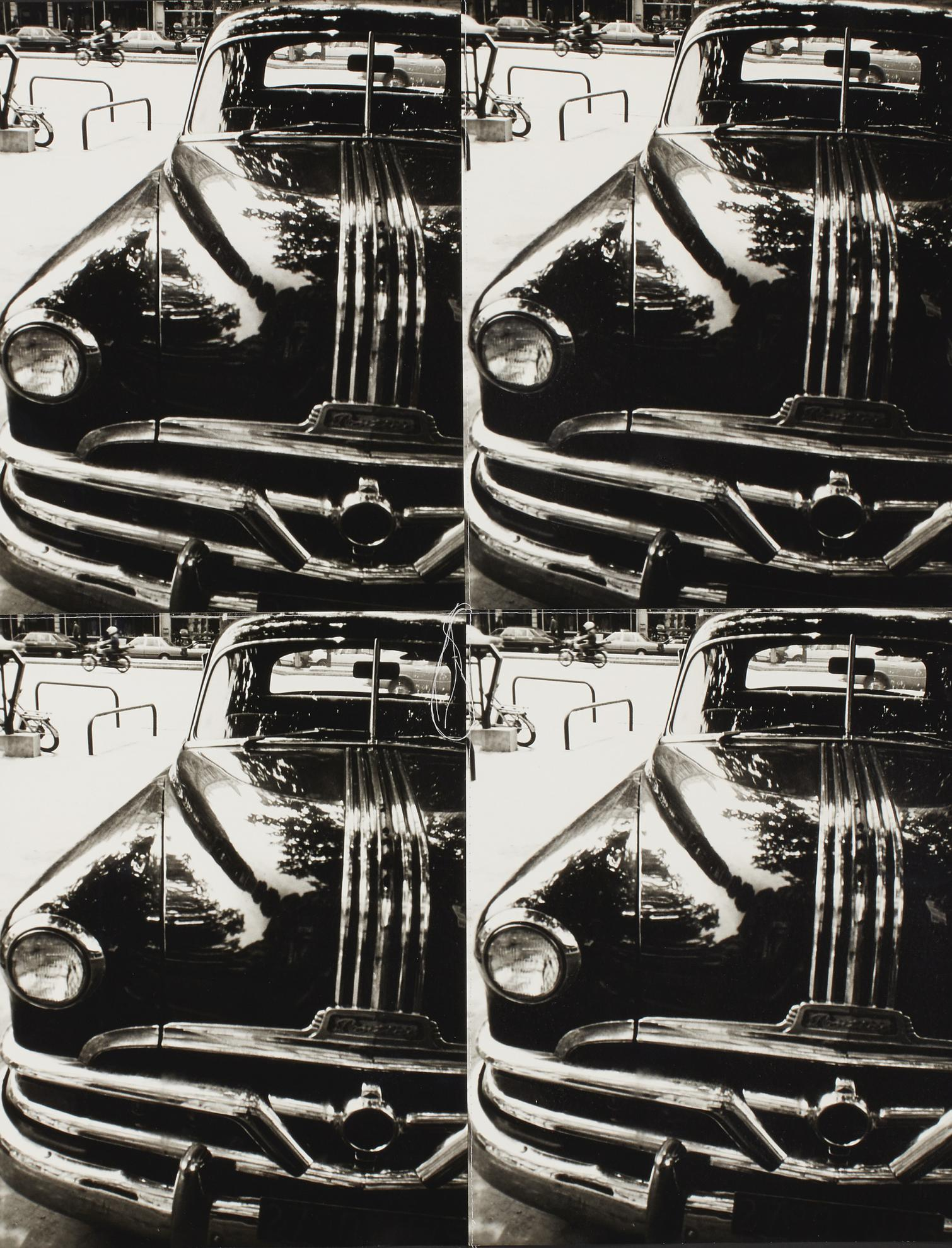 Andy Warhol-Untitled (Old Pontiac Close-Up)-1986