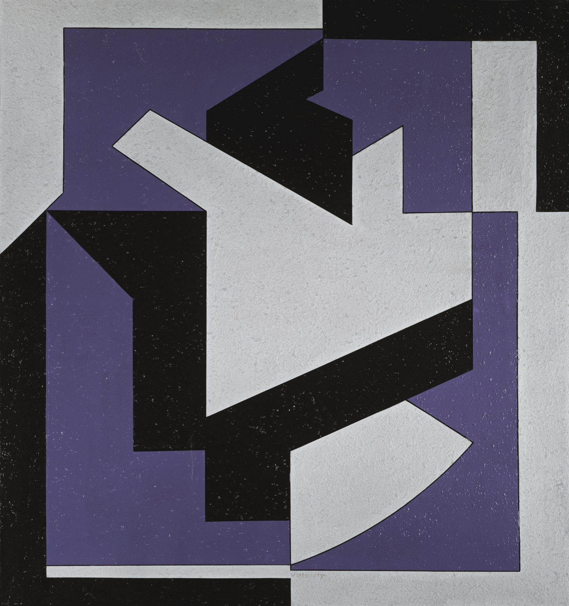 Victor Vasarely-Nemes-1986