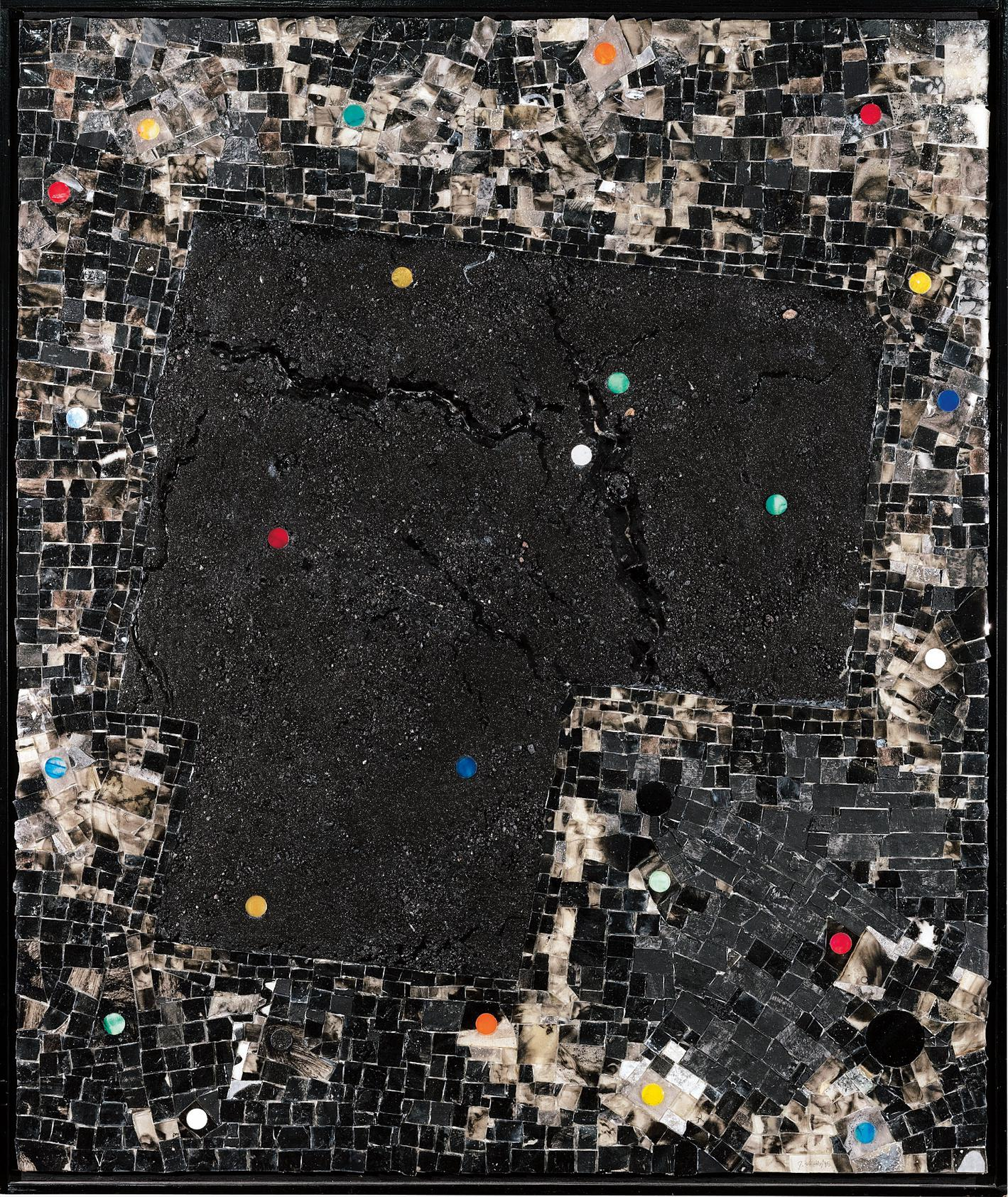 Jack Whitten-Bright Moments: For R.R. Kirk-1995