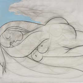 Pablo Picasso-La Dormeuse-1932