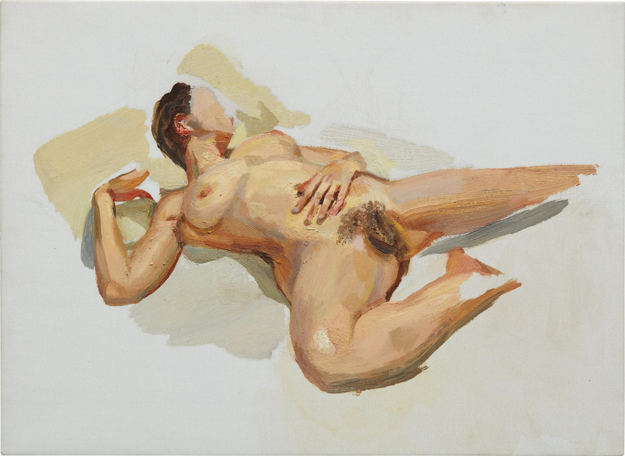 Lucian Freud-Small Naked Portrait-2005