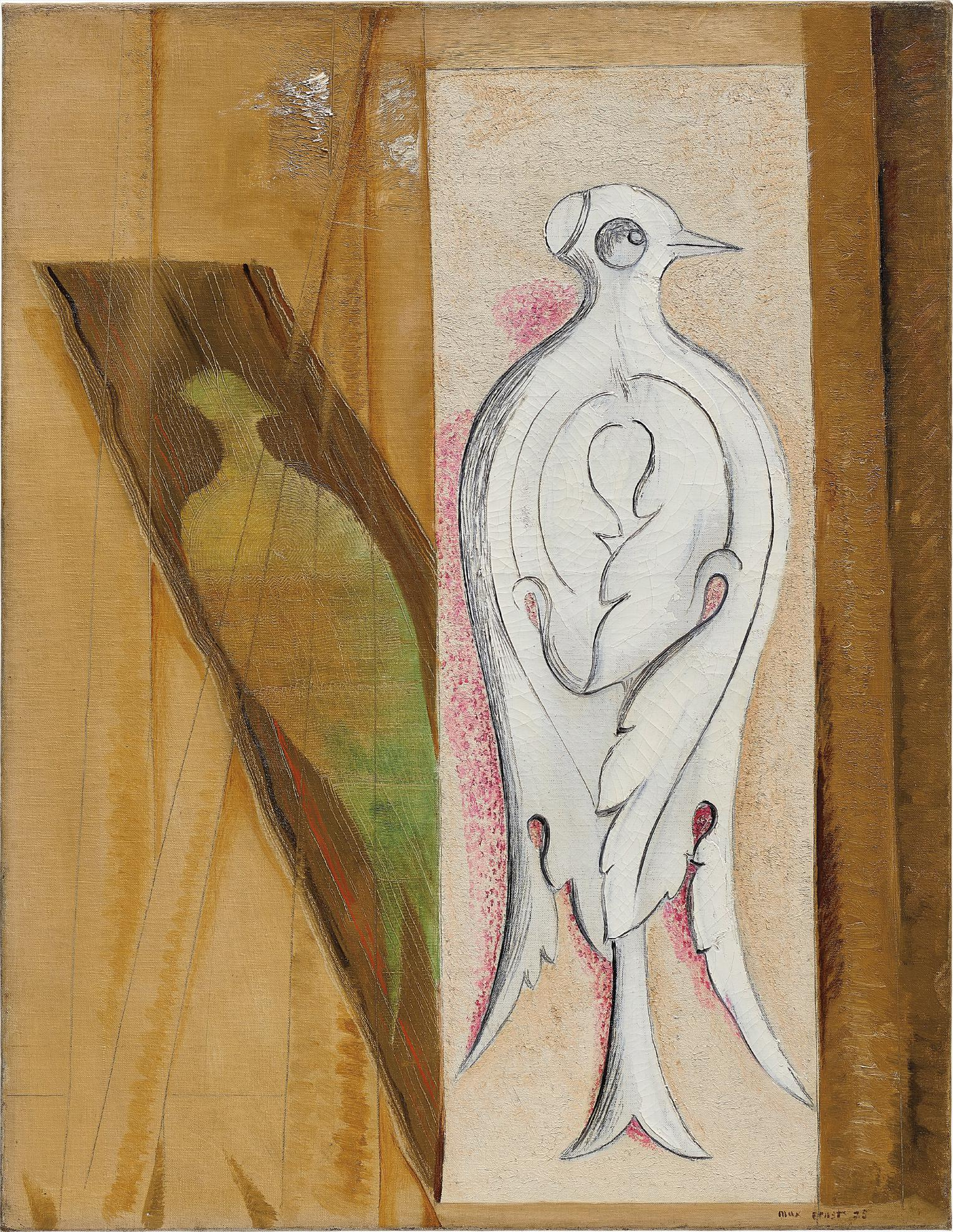 Max Ernst-Colombe Blanche-1925